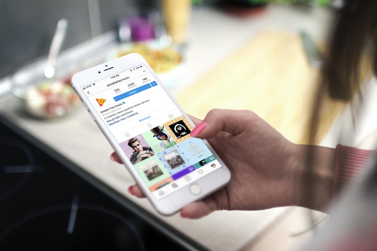Google Play Music Social Media