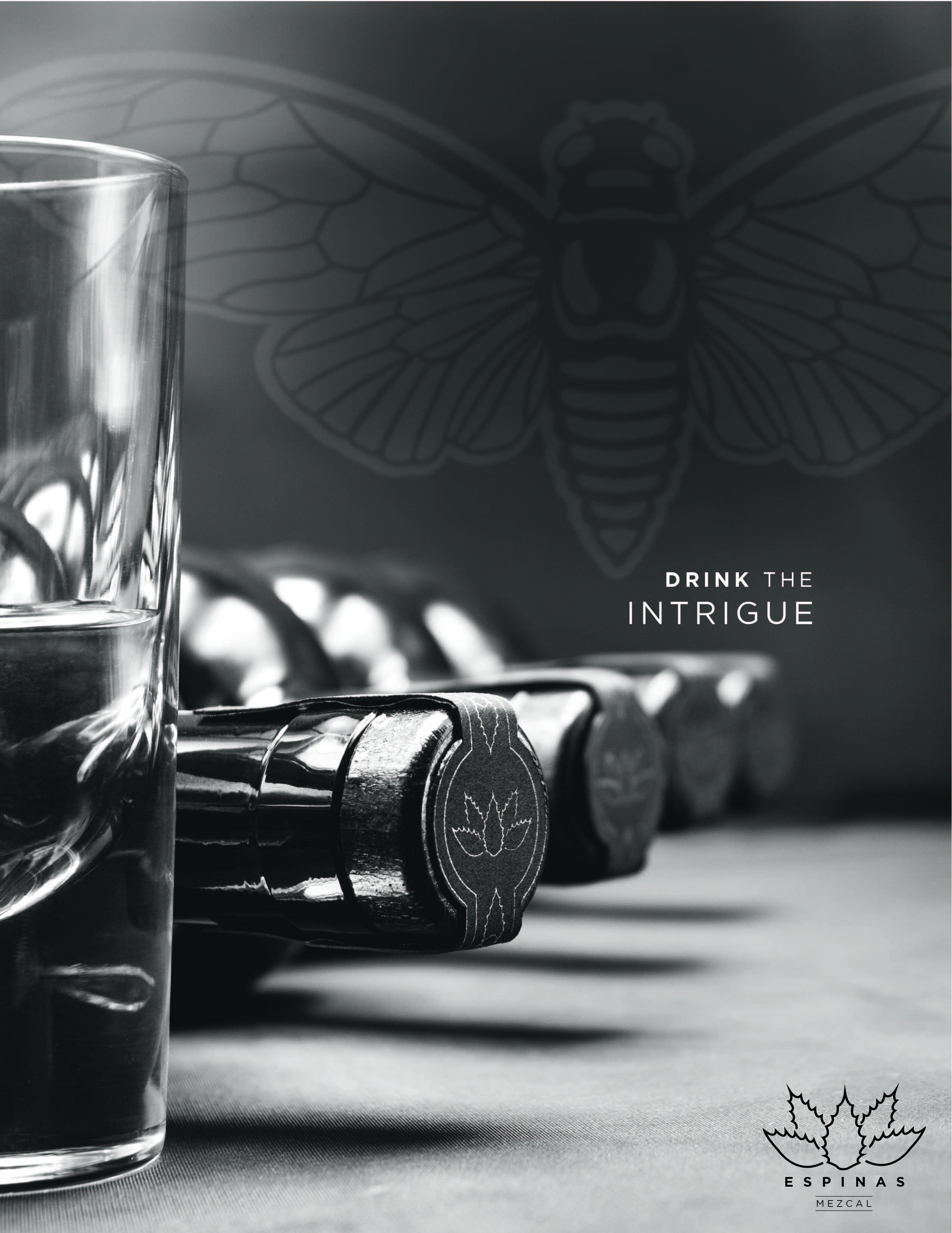 Espinas Mezcal Bottle Design
