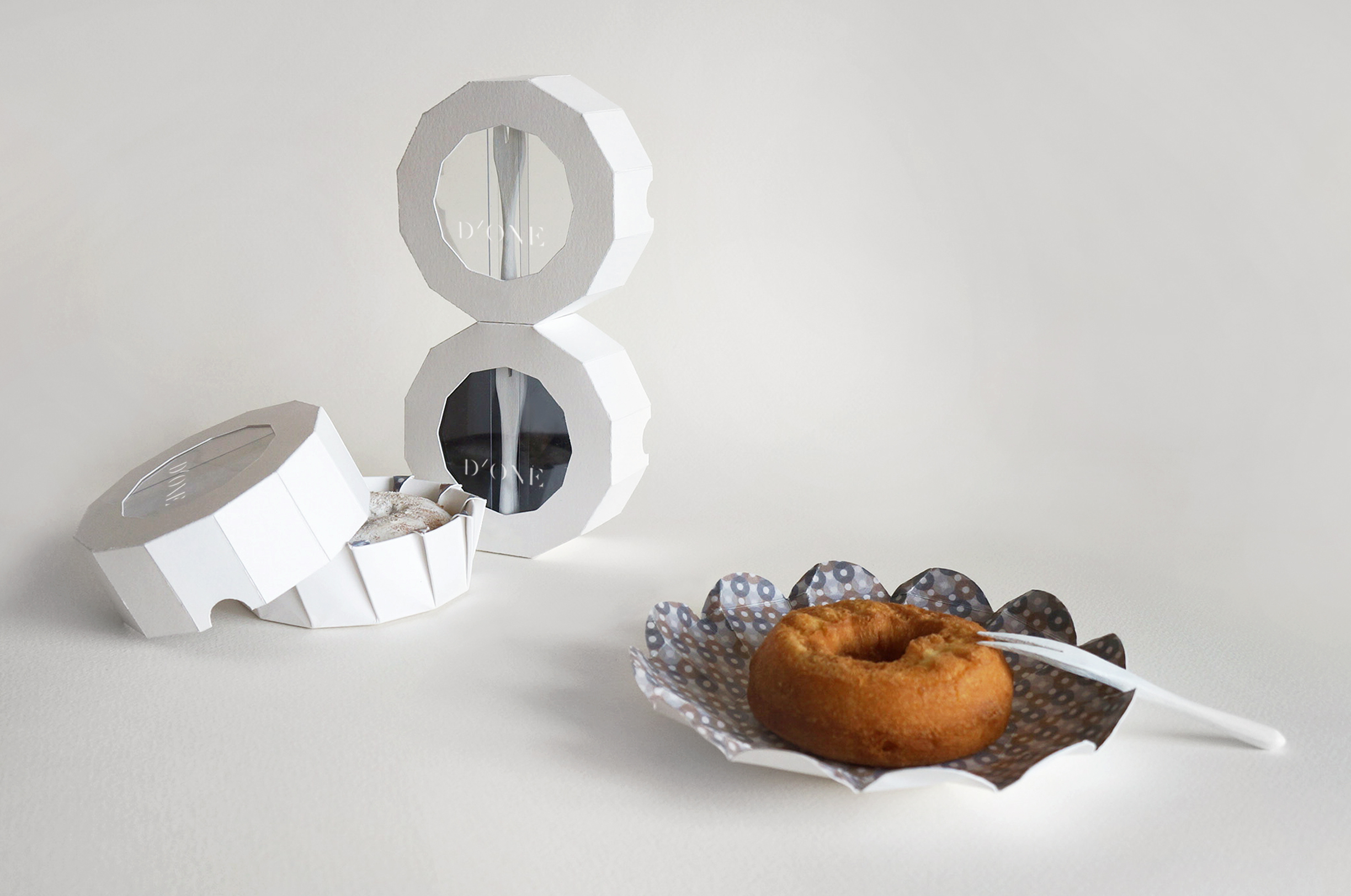 D'ONE Donut Packaging