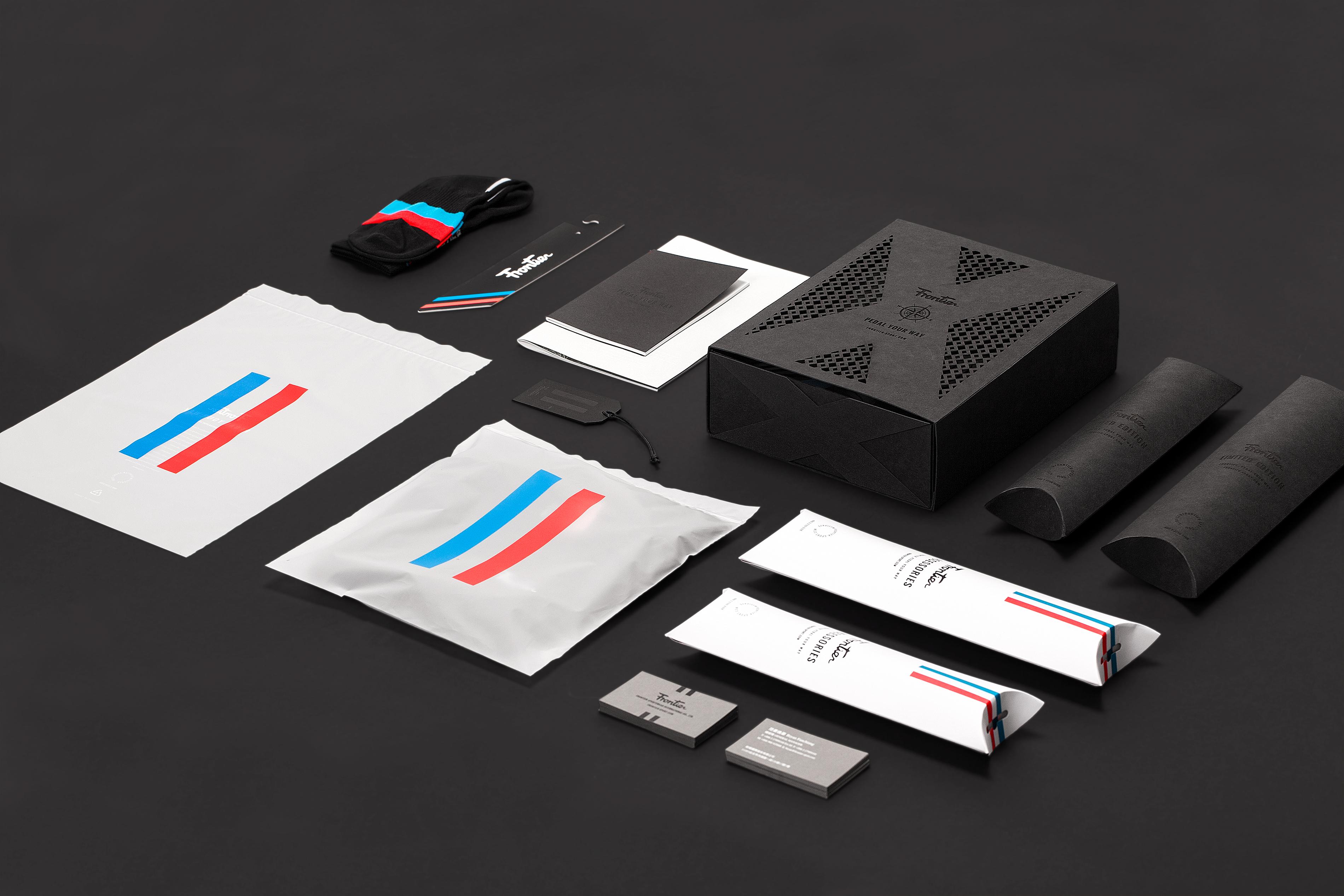 Frontier re-branding design