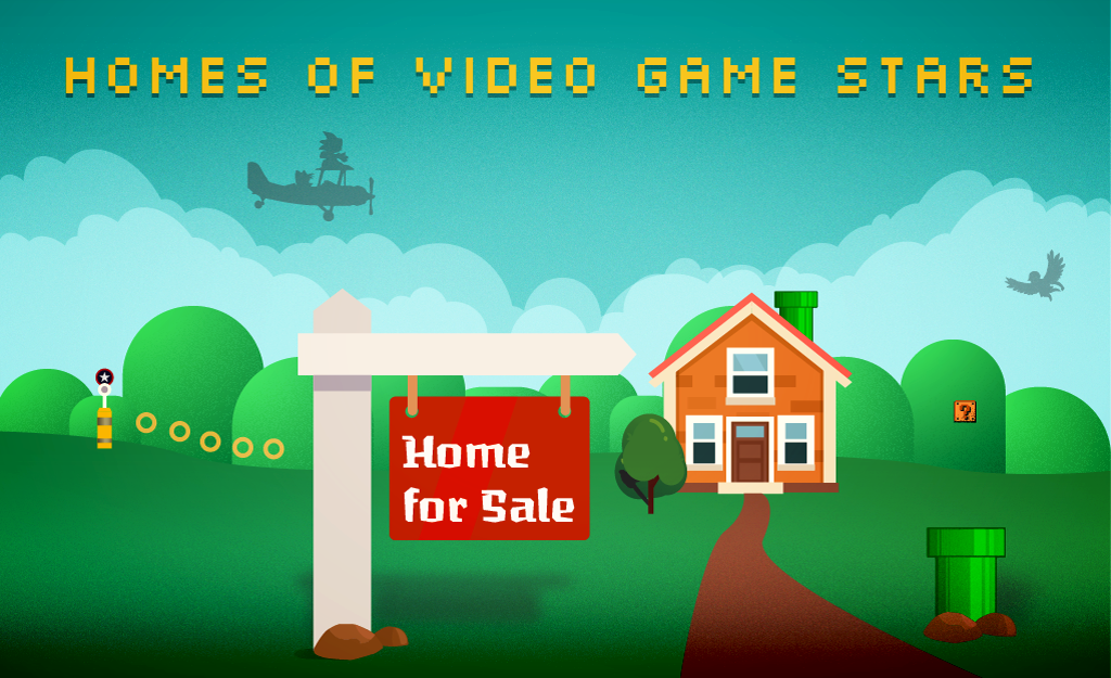 Imagining The Homes Of Iconic Video Game Characters
