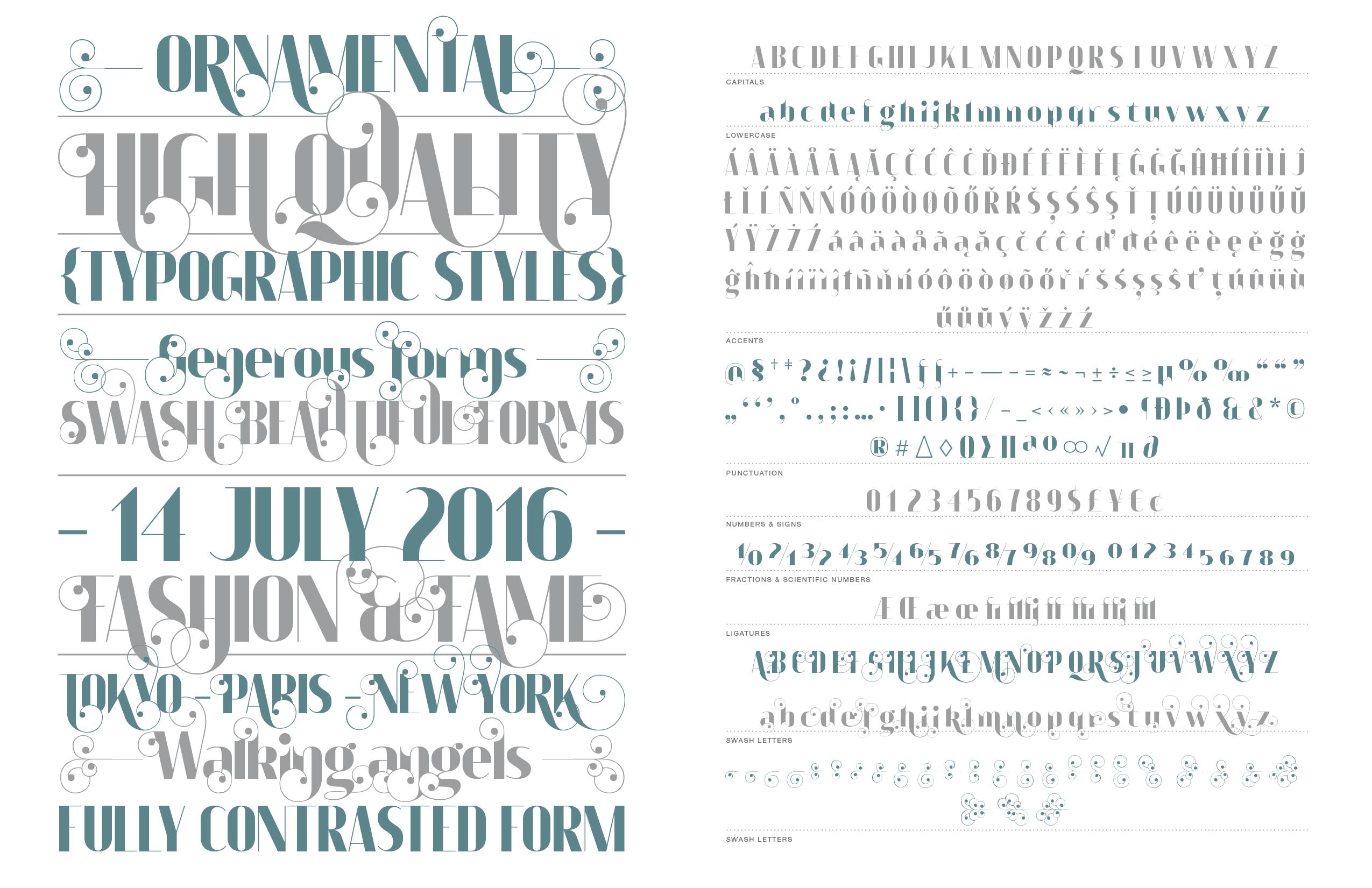 Apollonius typeface