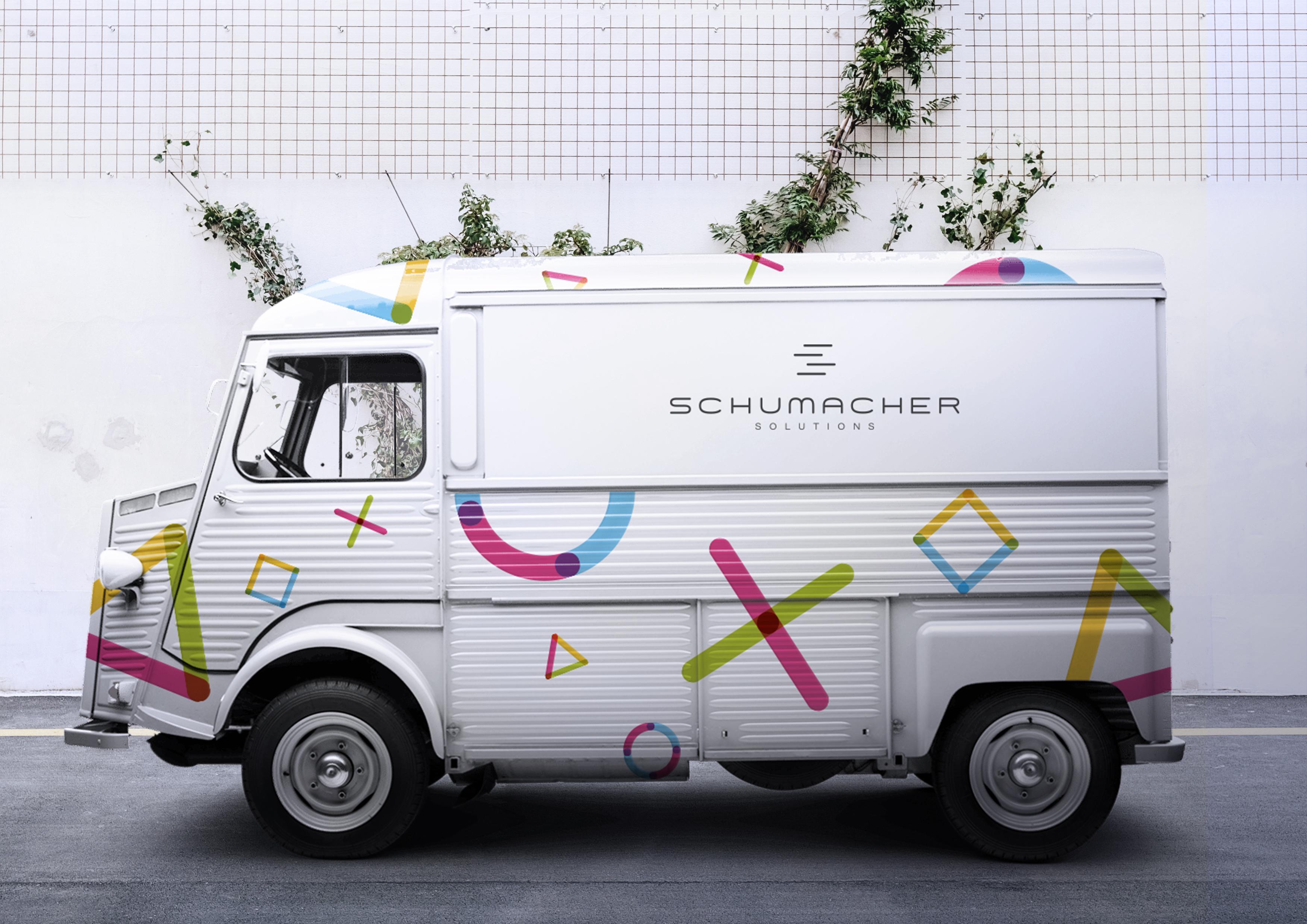Corporate Design Schumacher Solutions