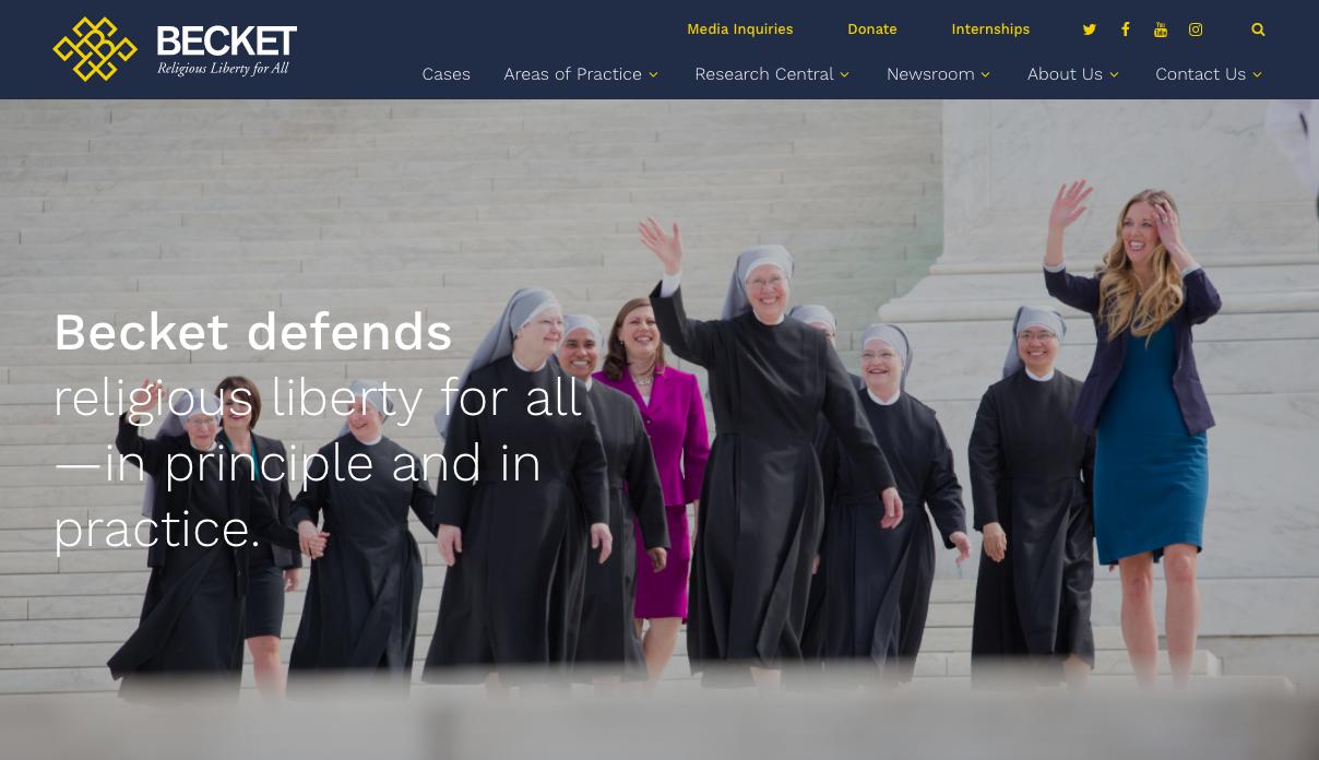Becket Law Website