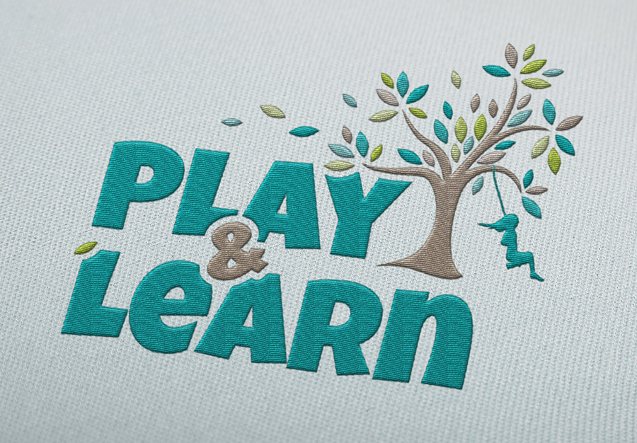 Play and Learn Child Care Brand Identity