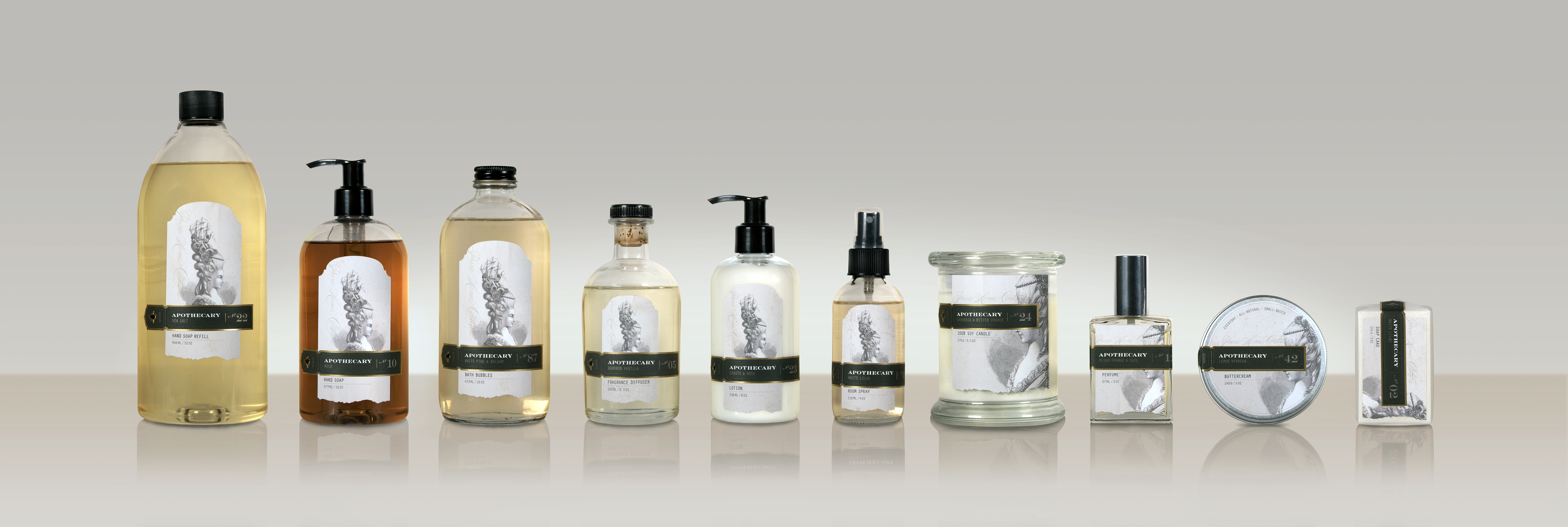 Apothecary Product Line Redesign