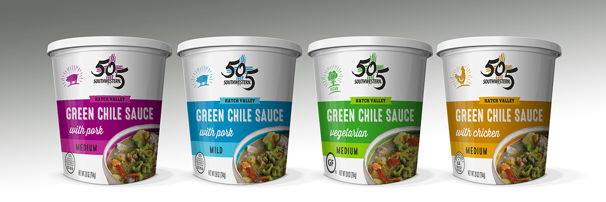 505 Southwestern Green Chile Packaging