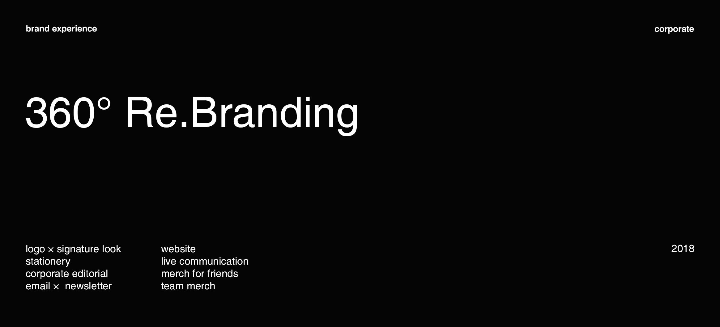 360° Re.Branding for B2B Agency APTLY
