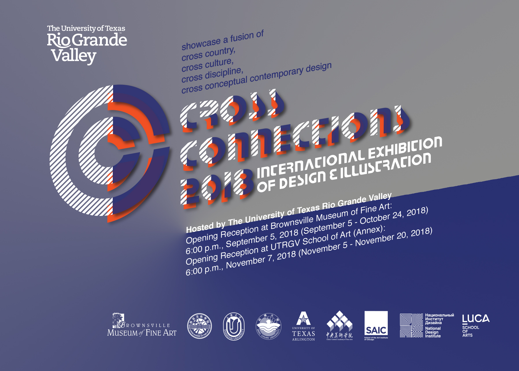 Cross Connections 2018 Exhibition Poster