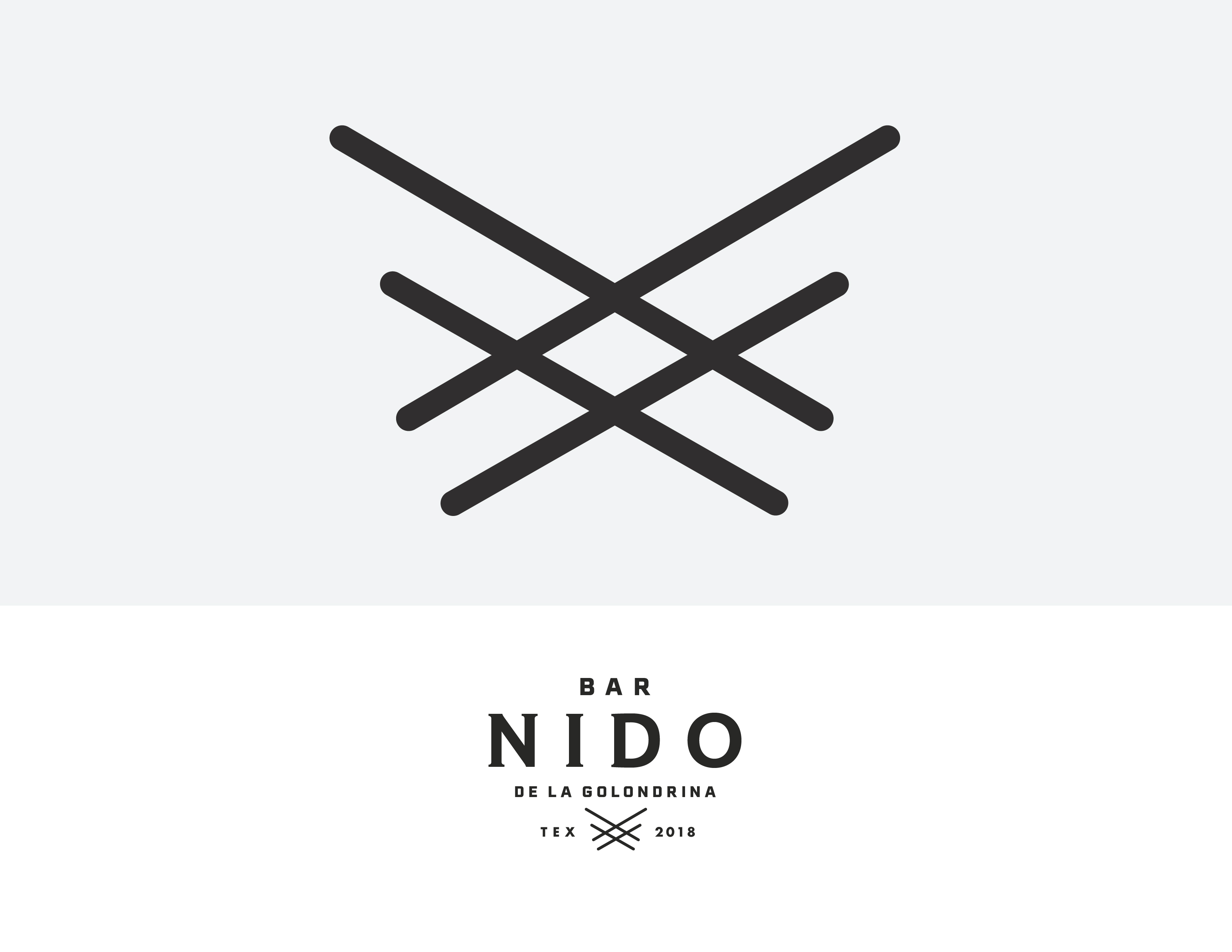 Bar Nido Logo System