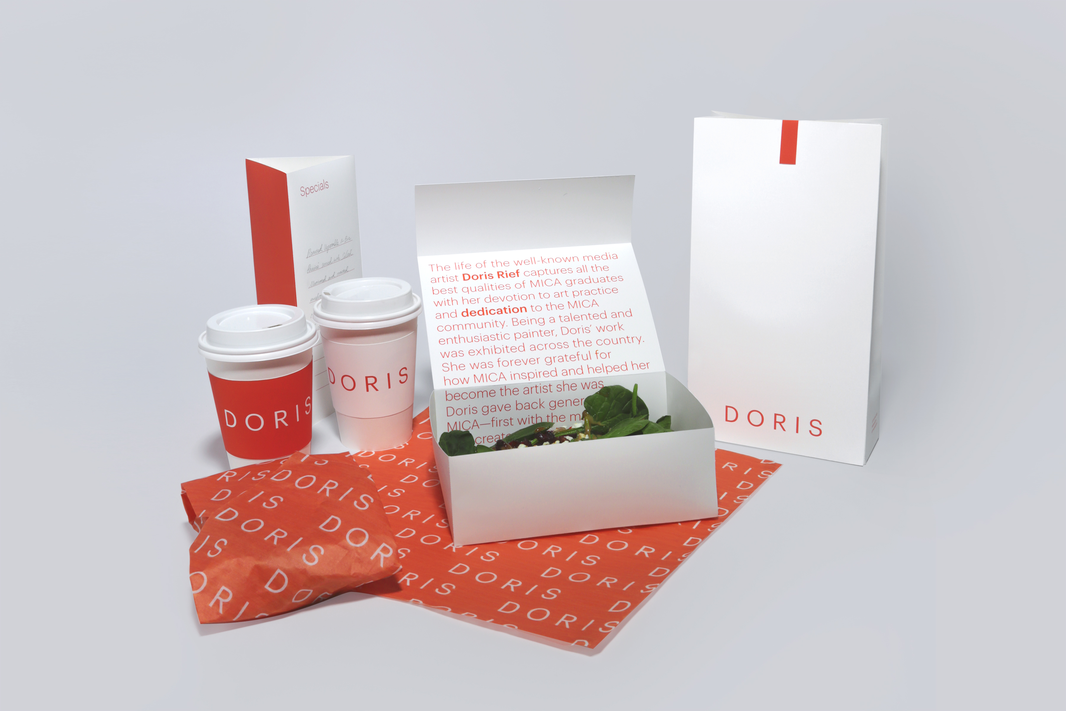 Café Doris Rebranding