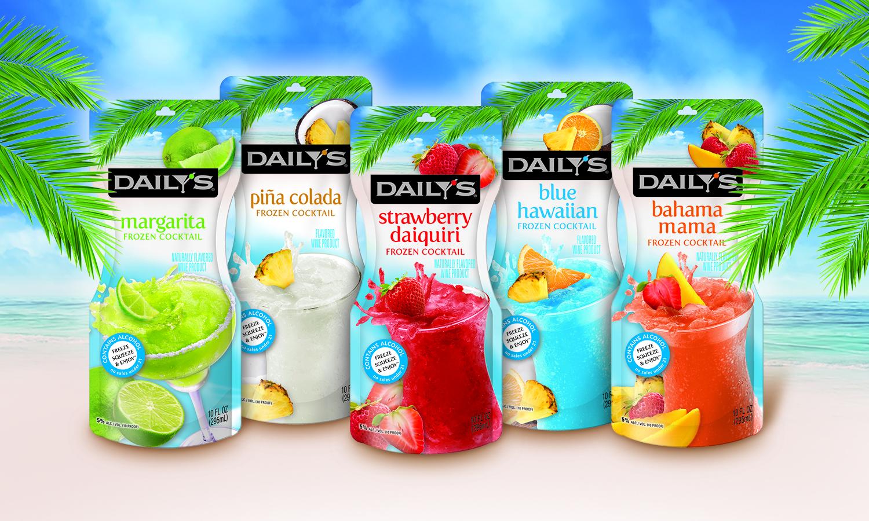 Daily's Tropicals Frozen Cocktails