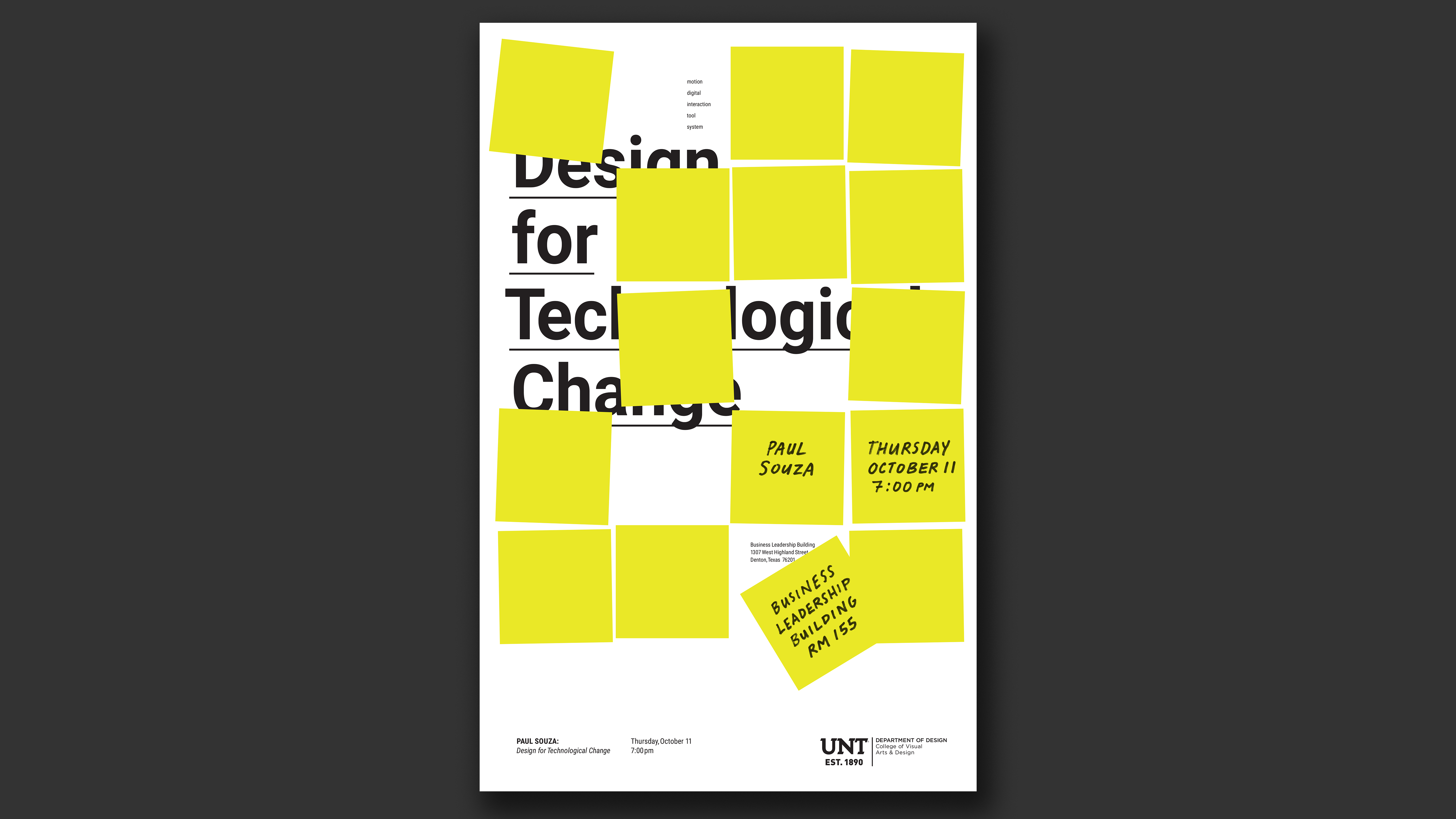 Paul Souza: Design for Technological Change