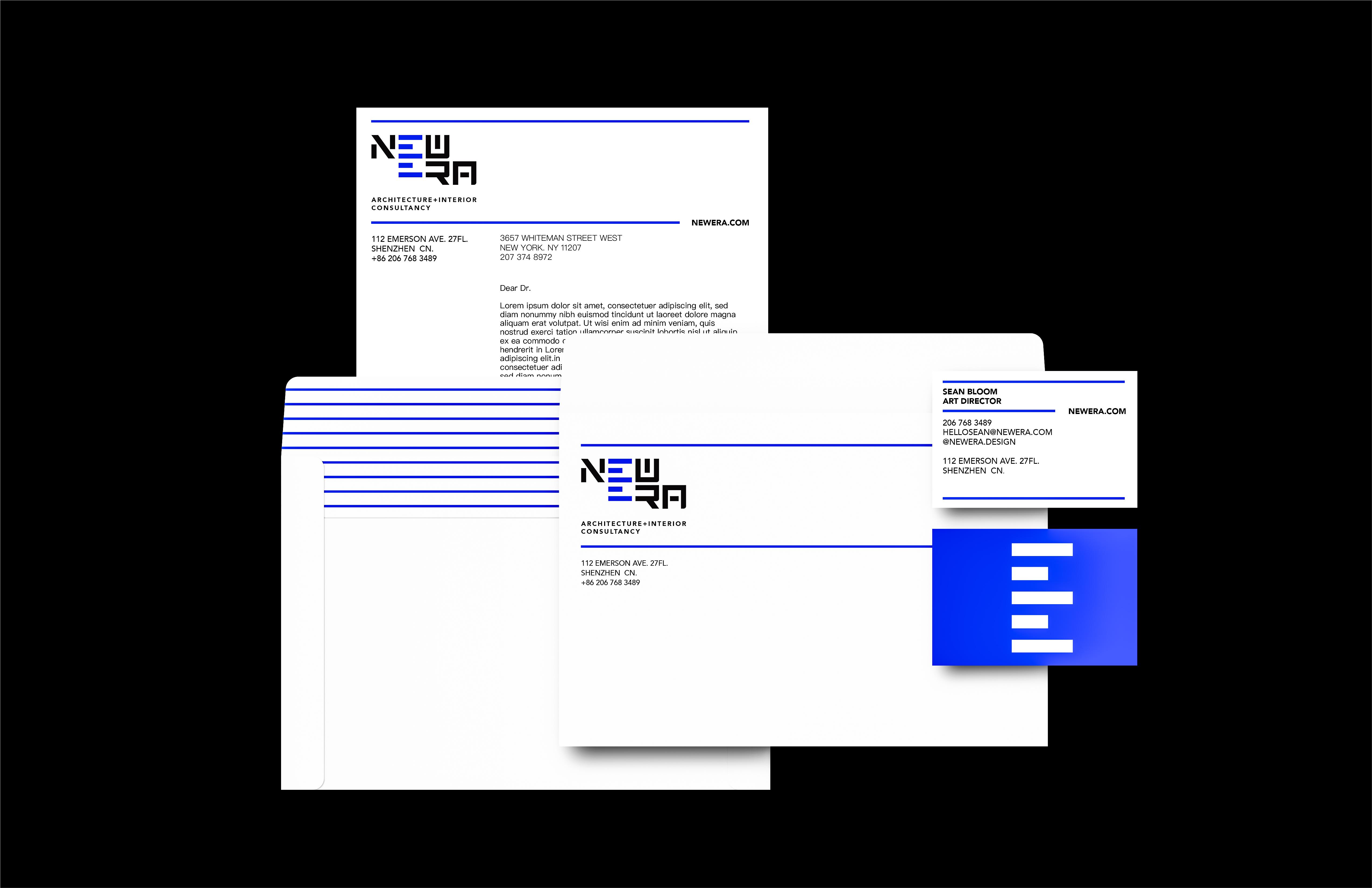 NEWERA Architecture+Interior Consultancy Branding