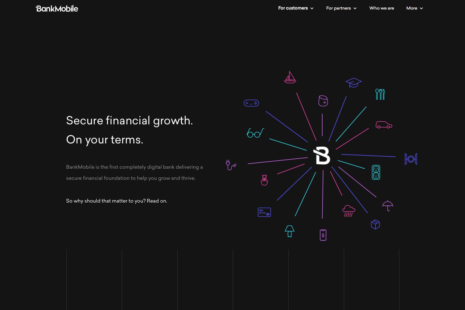 BankMobile Corporate Website