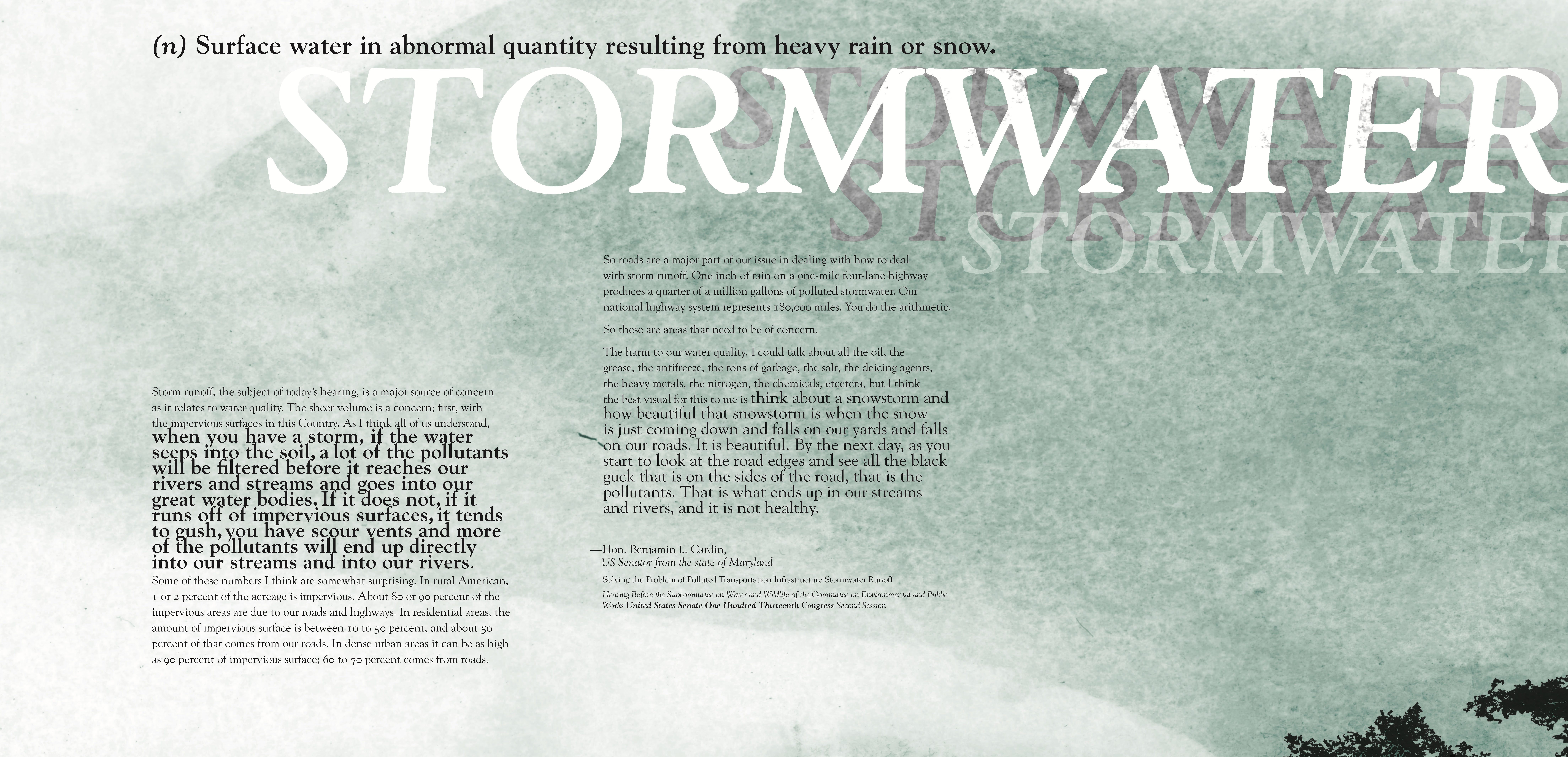 The Importance of Stormwater