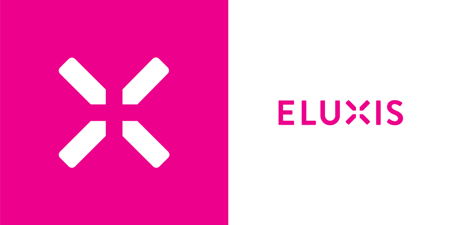 Clear and bold logo design for Eluxis