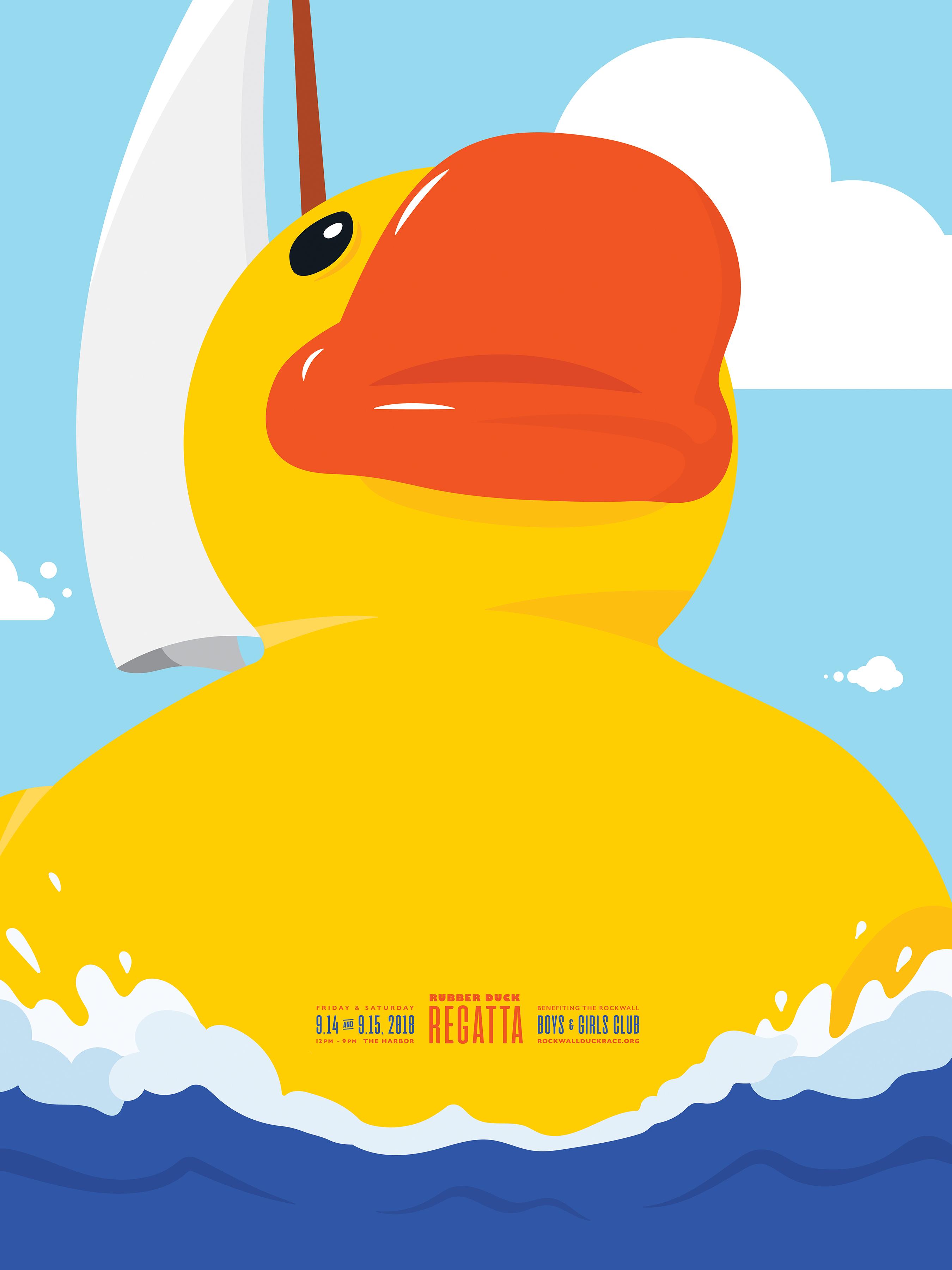 Rubber Duck Regatta Poster
