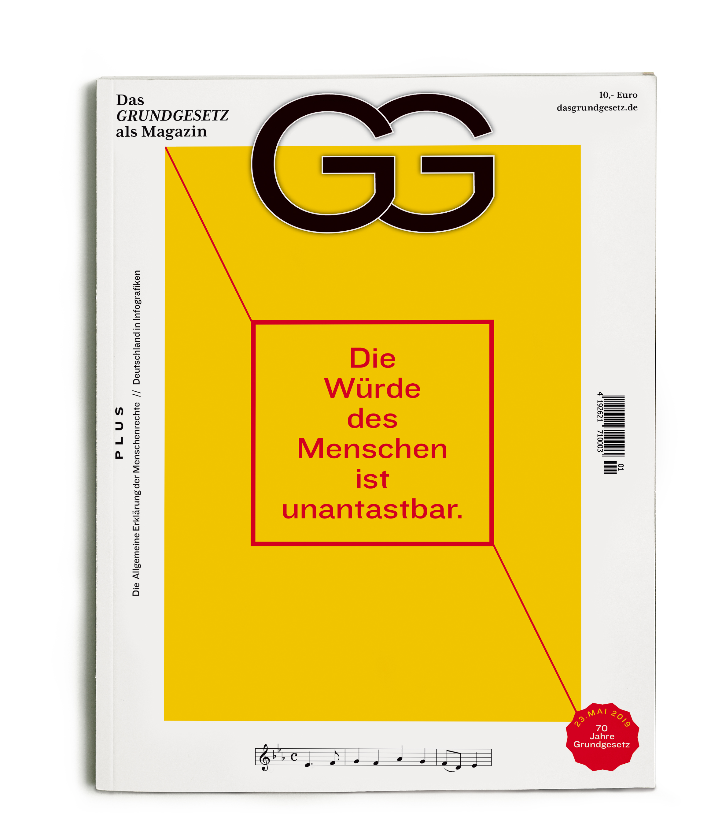 GG Das Grundgesetz als Magazin
