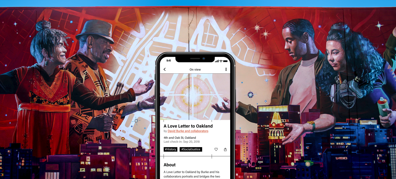 EpheMural, iOS app and website design
