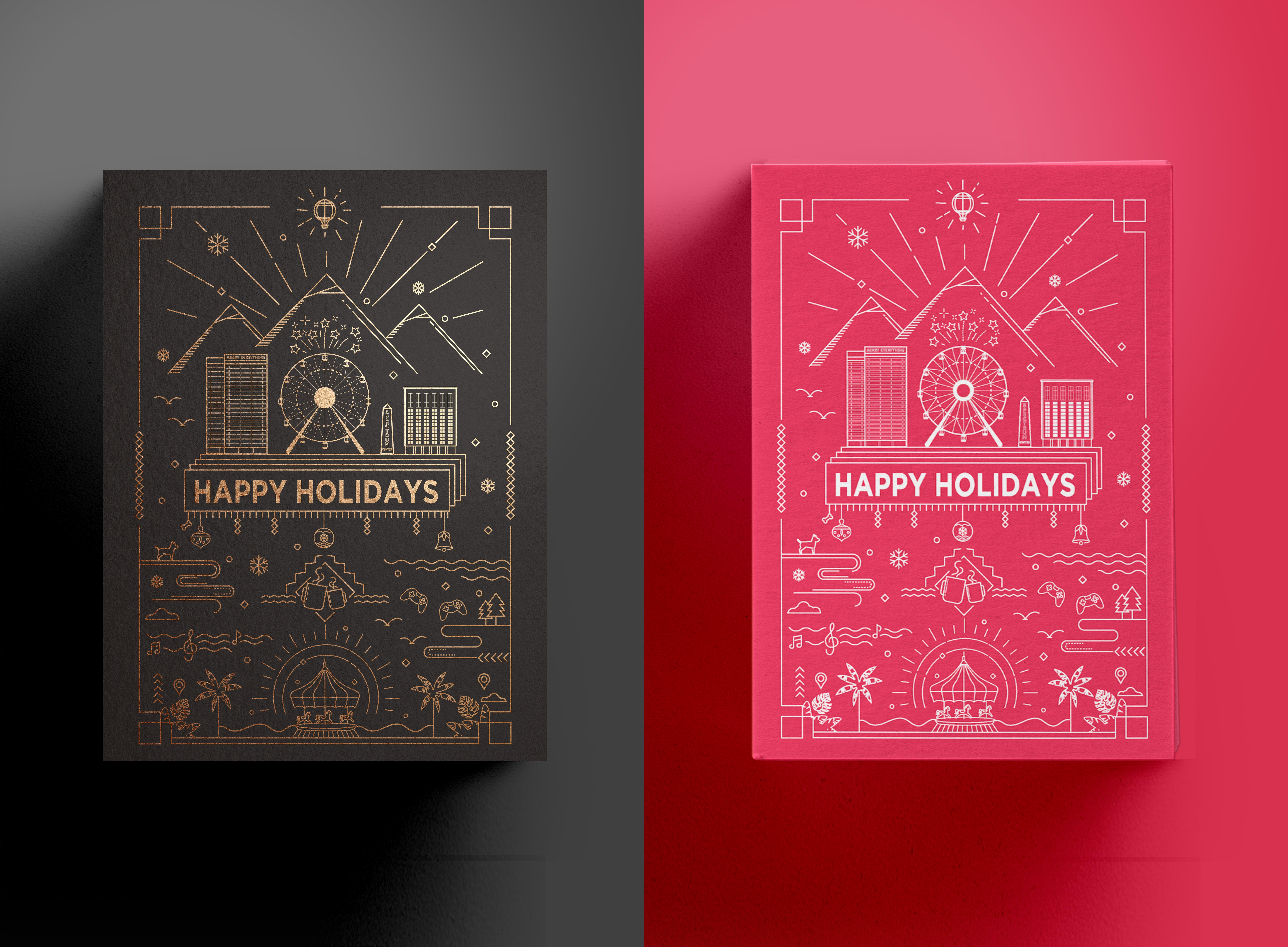 Happy Holidays Irvine Spectrum