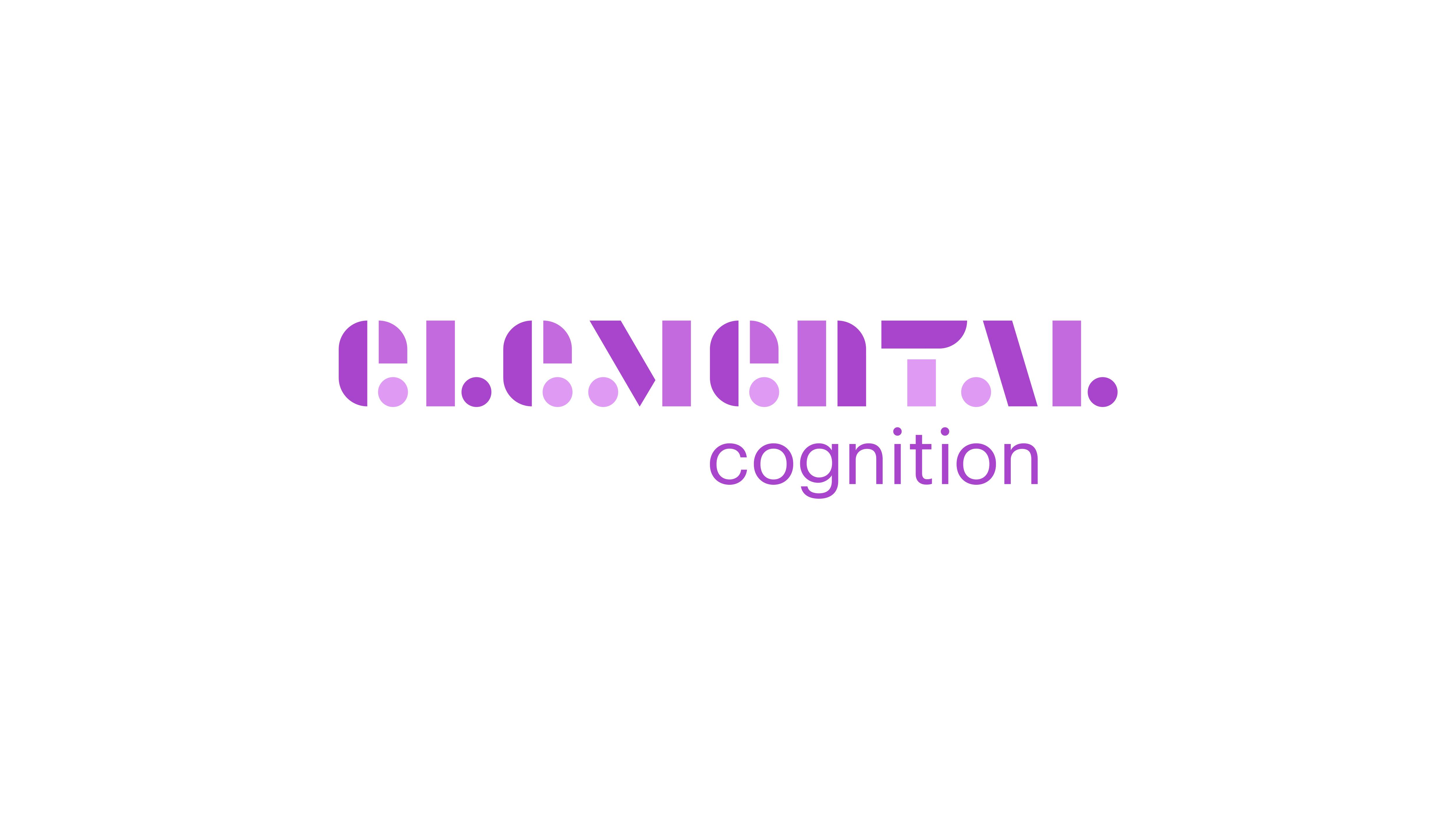 Elemental Cognition Branding