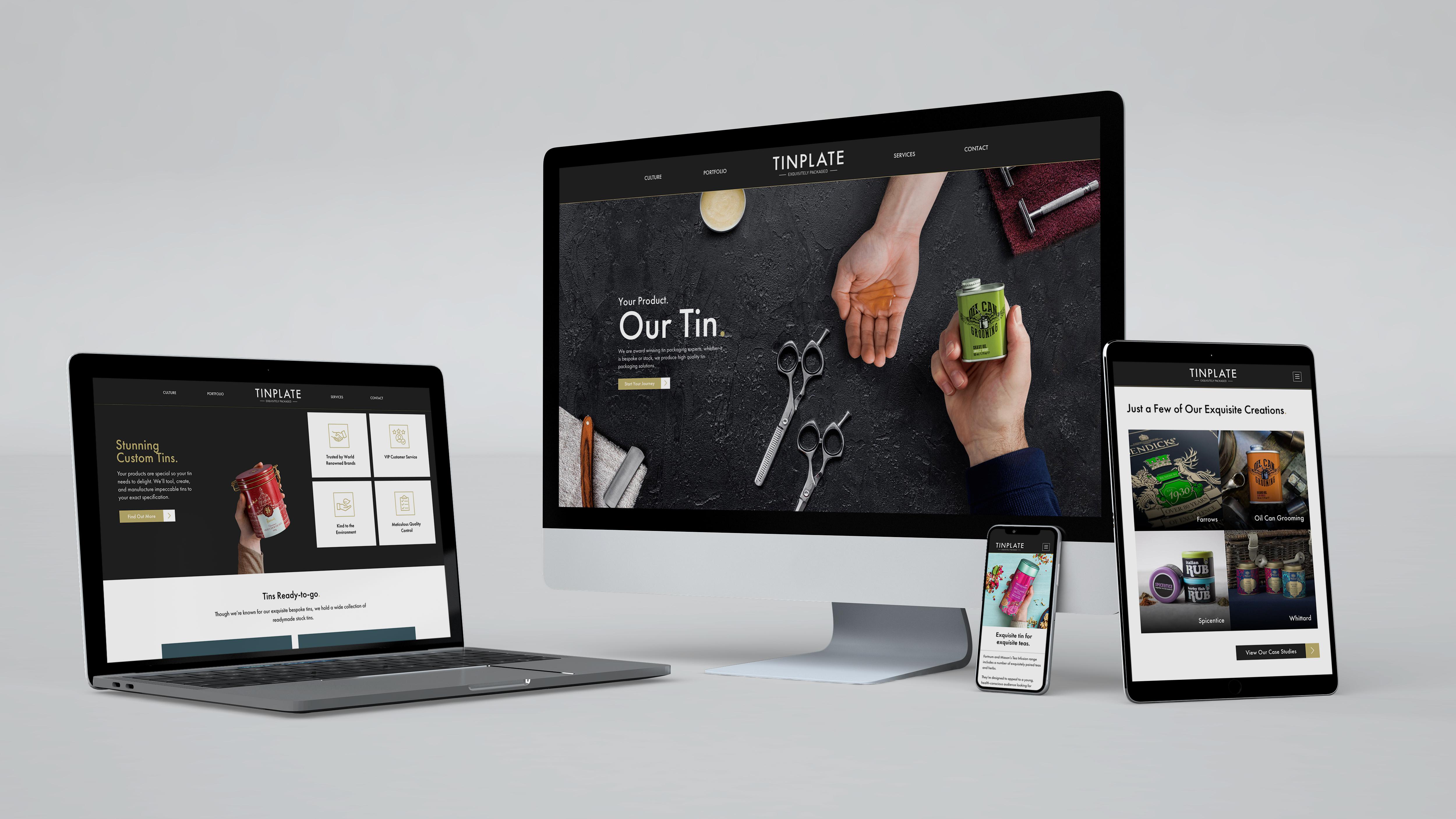 Tinplate Rebrand