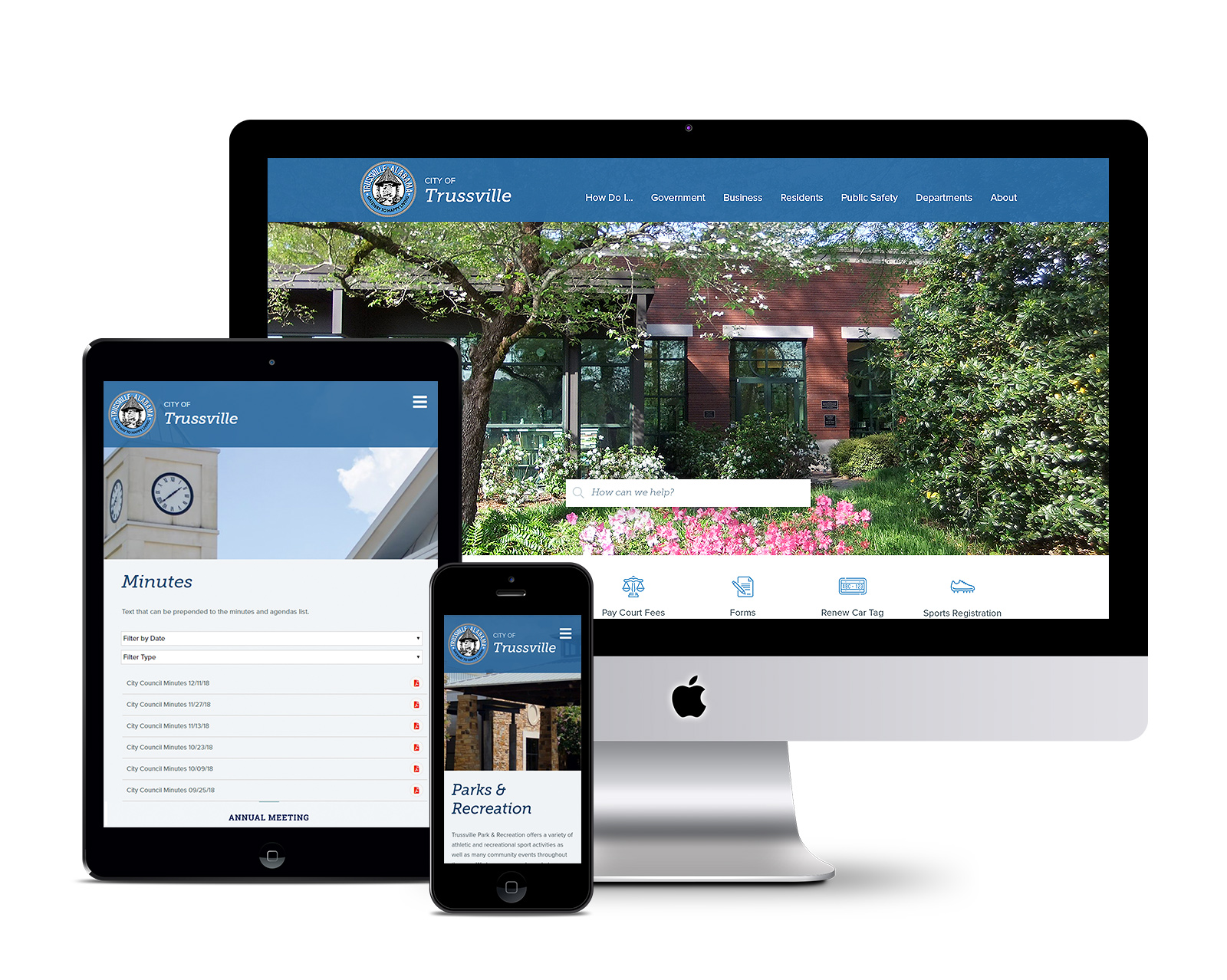 City of Trussville Website