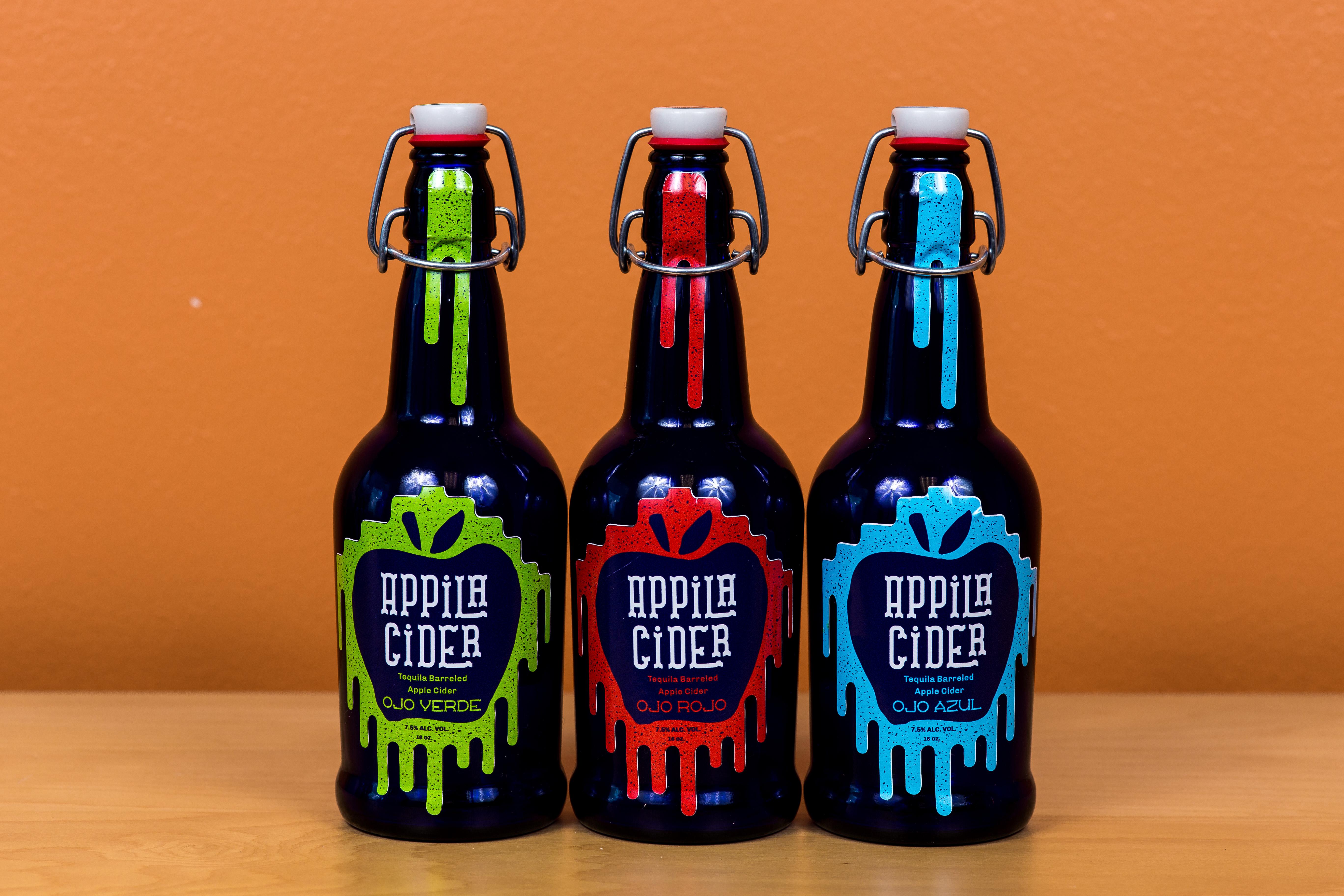 Appila Cider Packaging