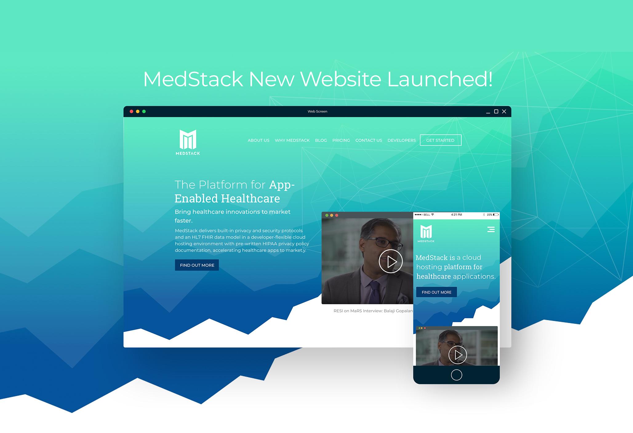 MedStack Website