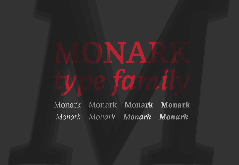 Monark Type Family