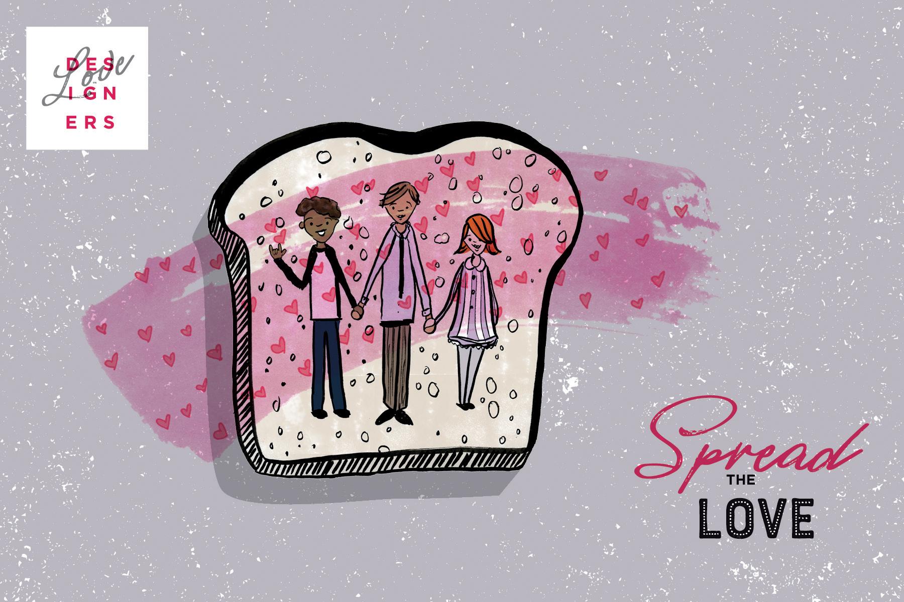 Spread the Love, Love on Designers Sandwich