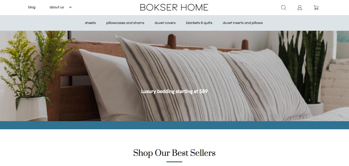 Bokser Home website