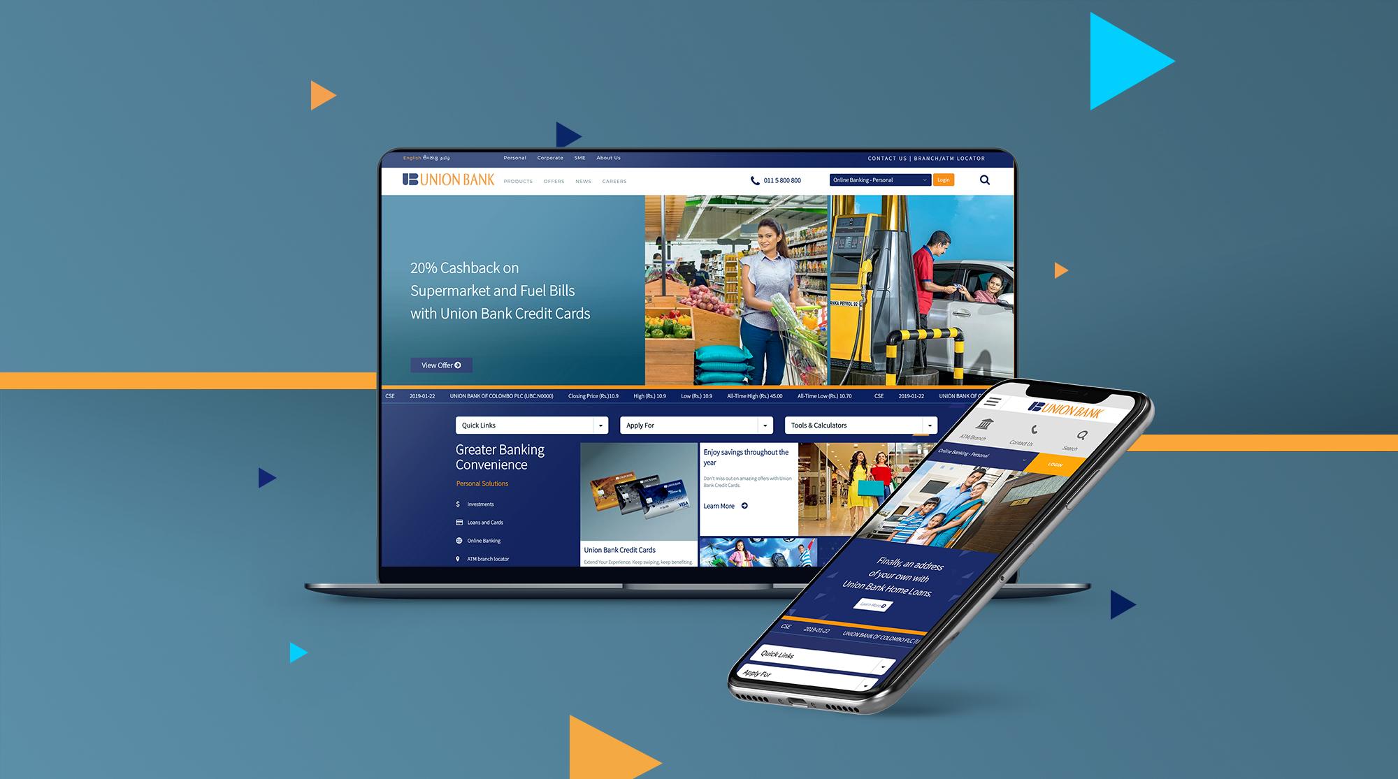Union Bank Corporate Website