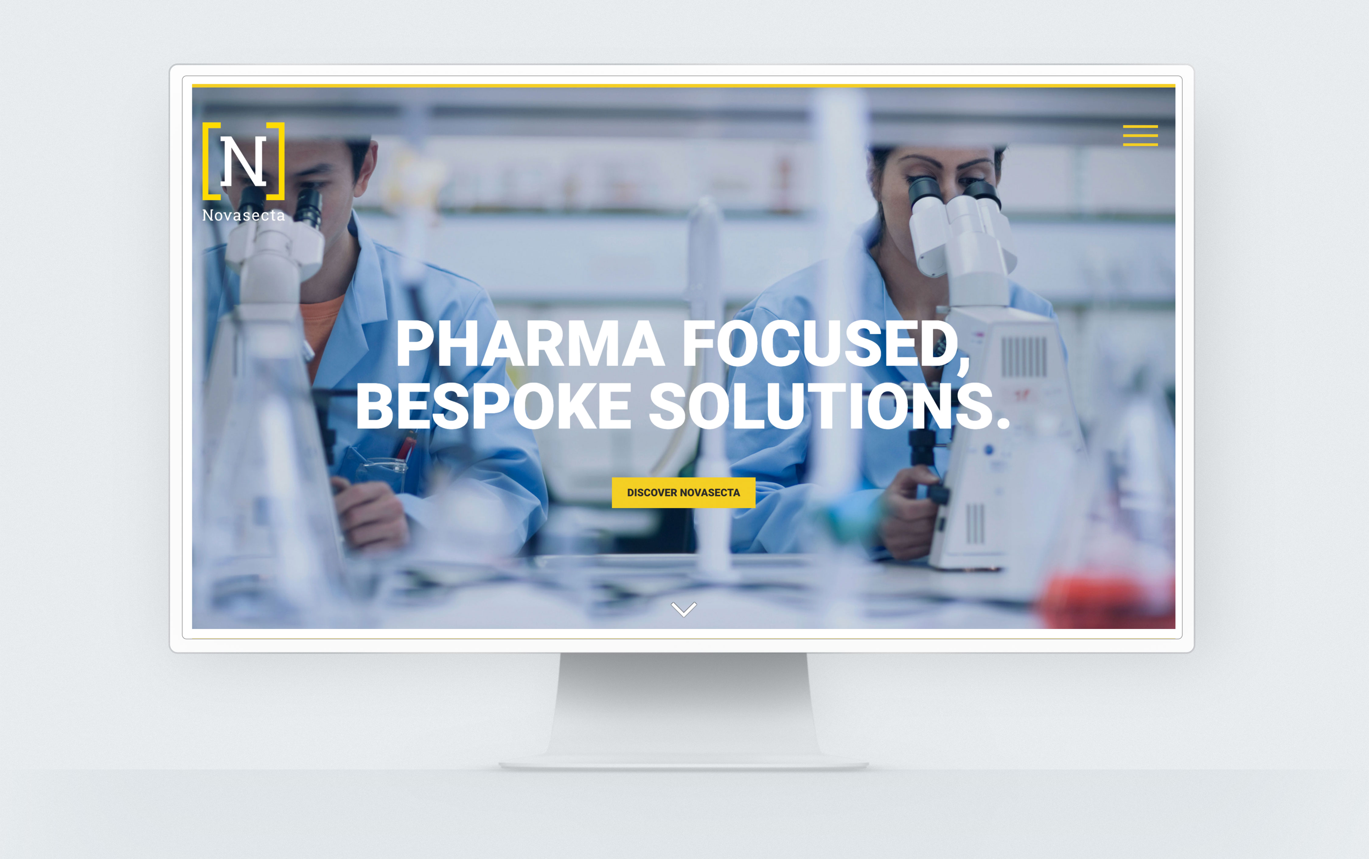 Novasecta Healthcare Website