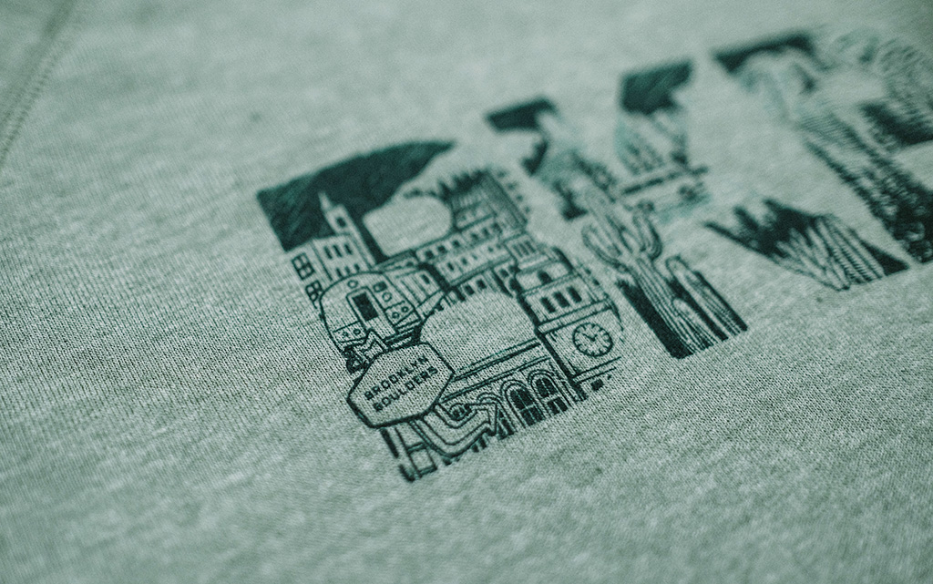 Brooklyn Boulders x Ming - Sweatshirt Design