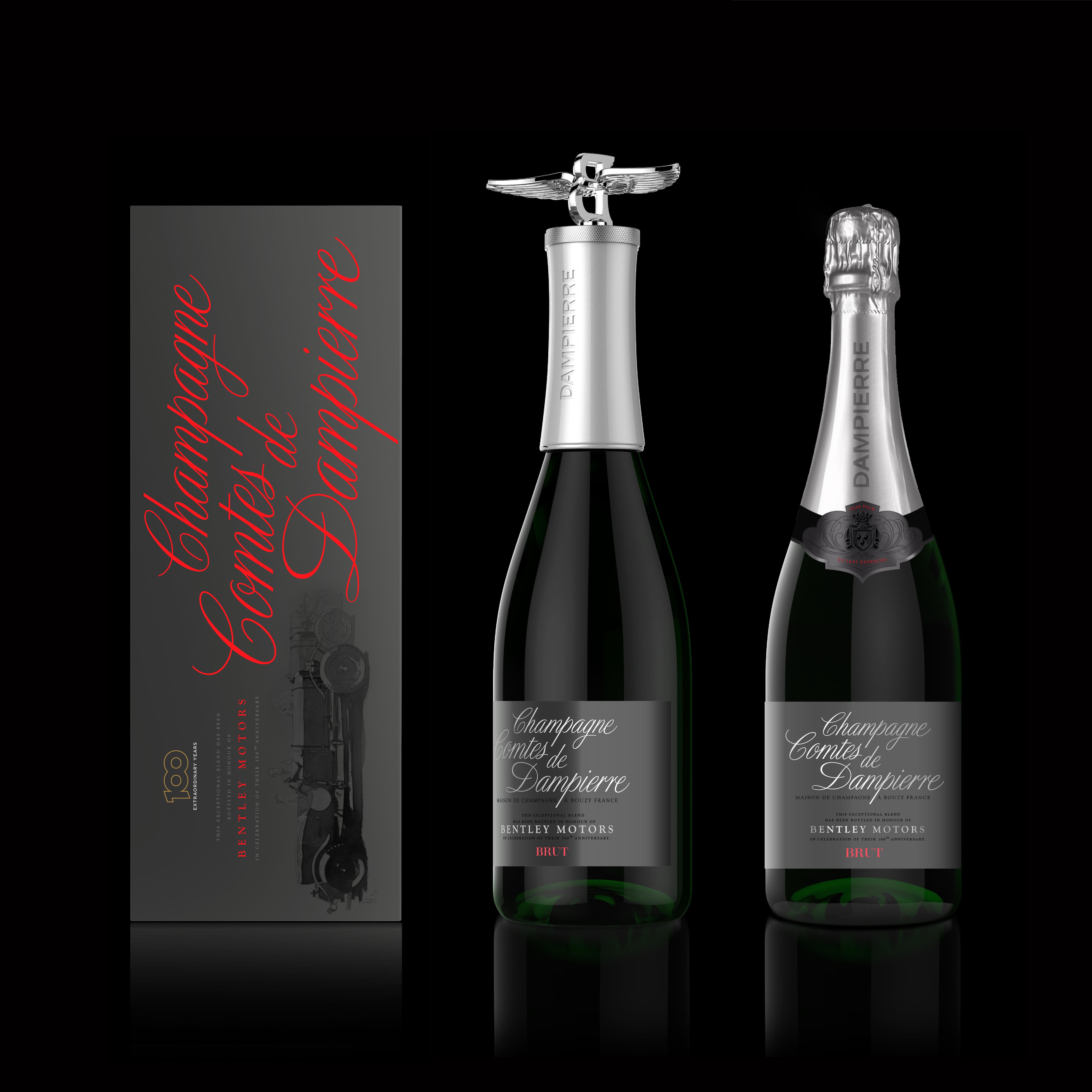 Champagne Comtes de Dampierre x Bentley Motors