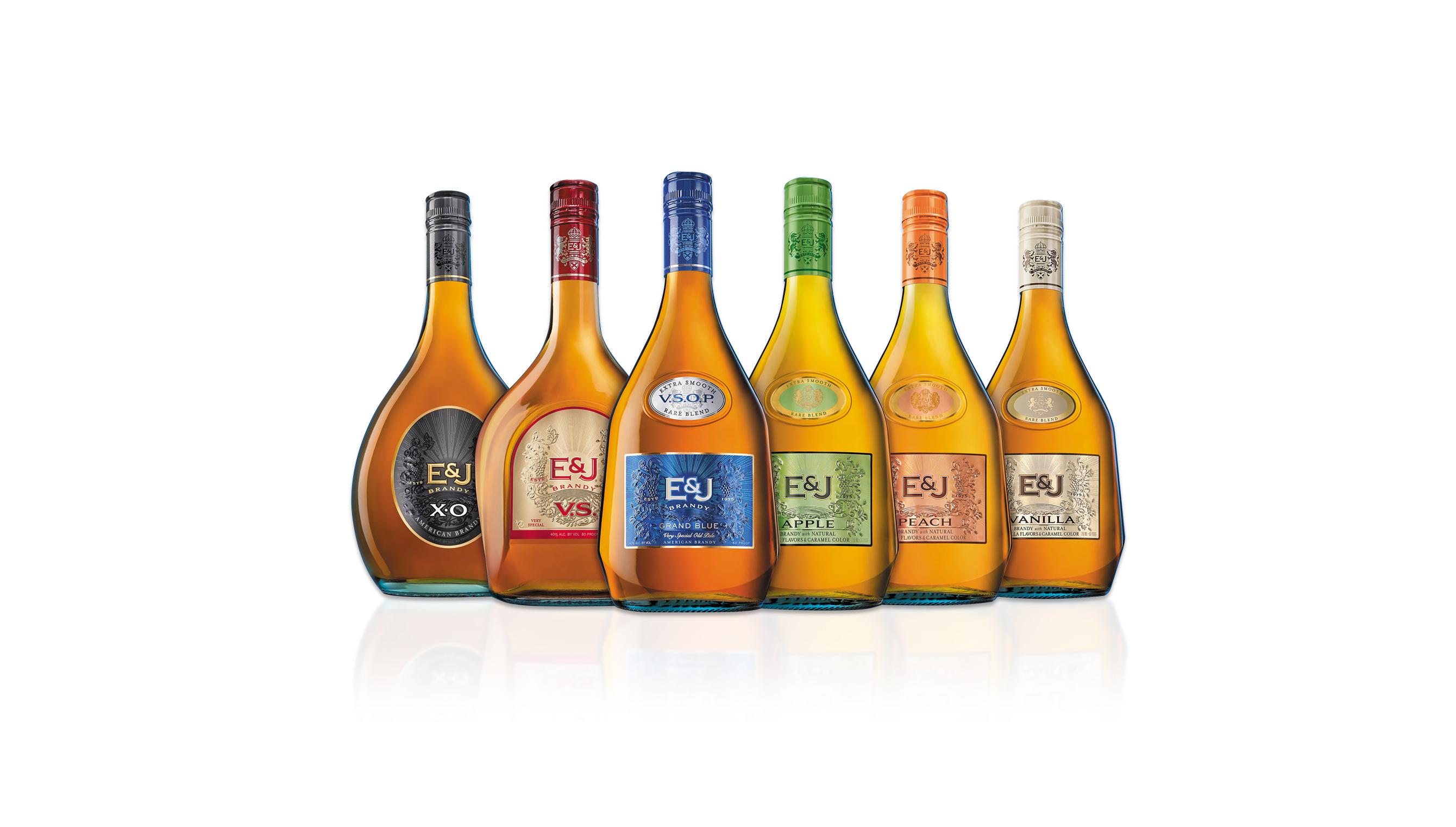 E&J Gallo Brandy Rebrand