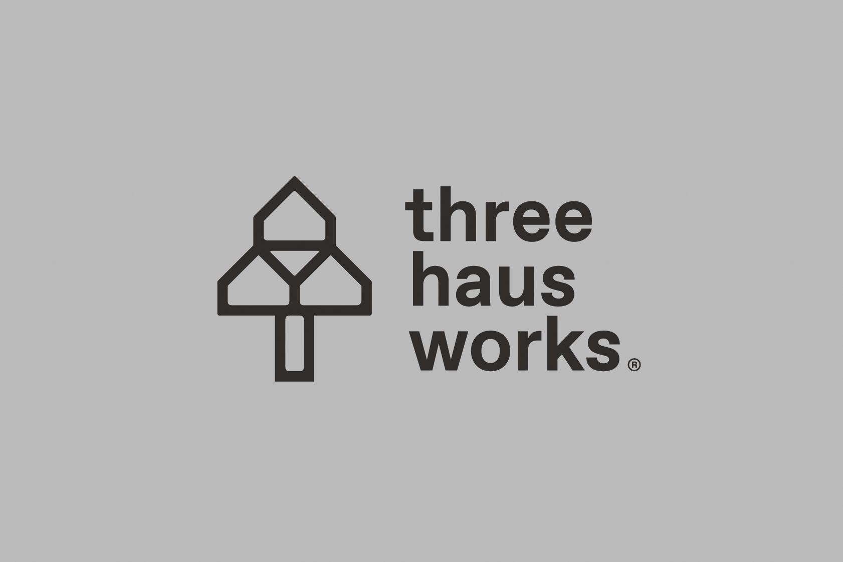 Three Haus Works Brand Identity