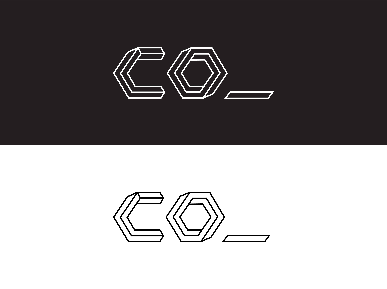 CO_ creative co-working Brand Identity