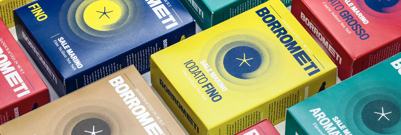 Borrometi Sea Salt Packaging