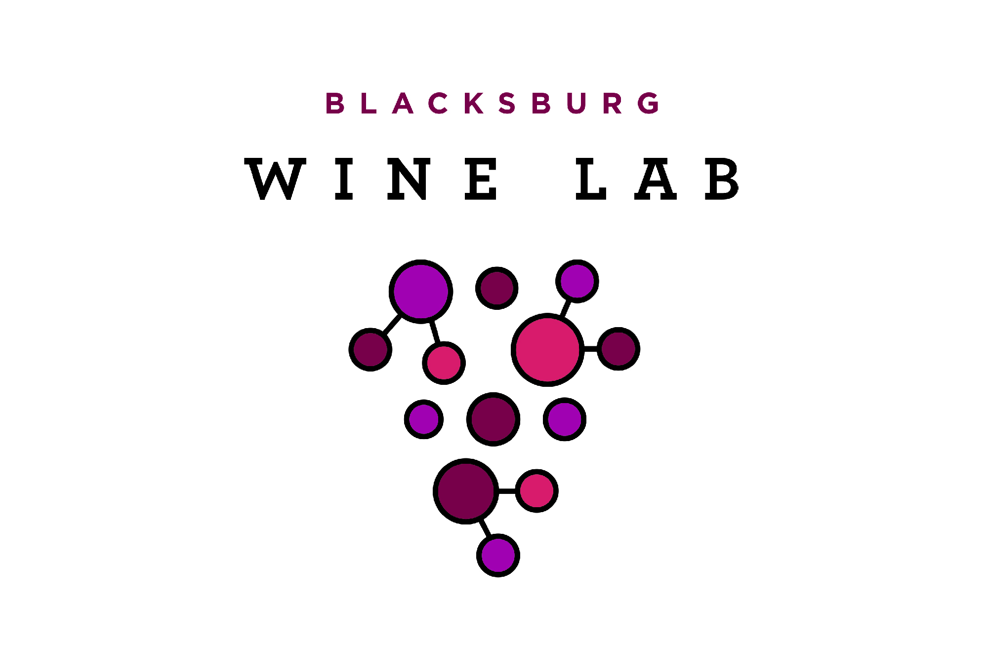Blacksburg Wine Lab Logo