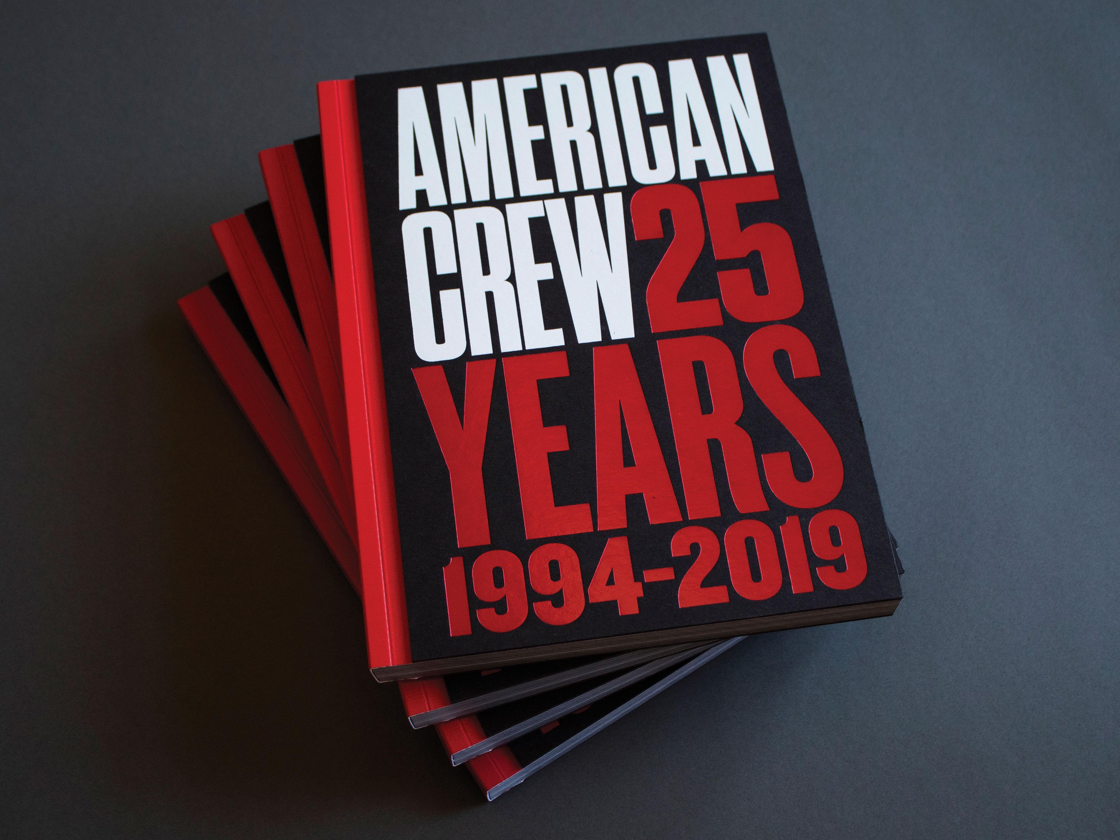 American Crew 25th Year Book