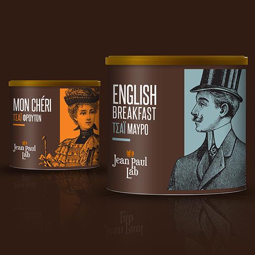 Jean Paul Lab's Flavoured Tea range