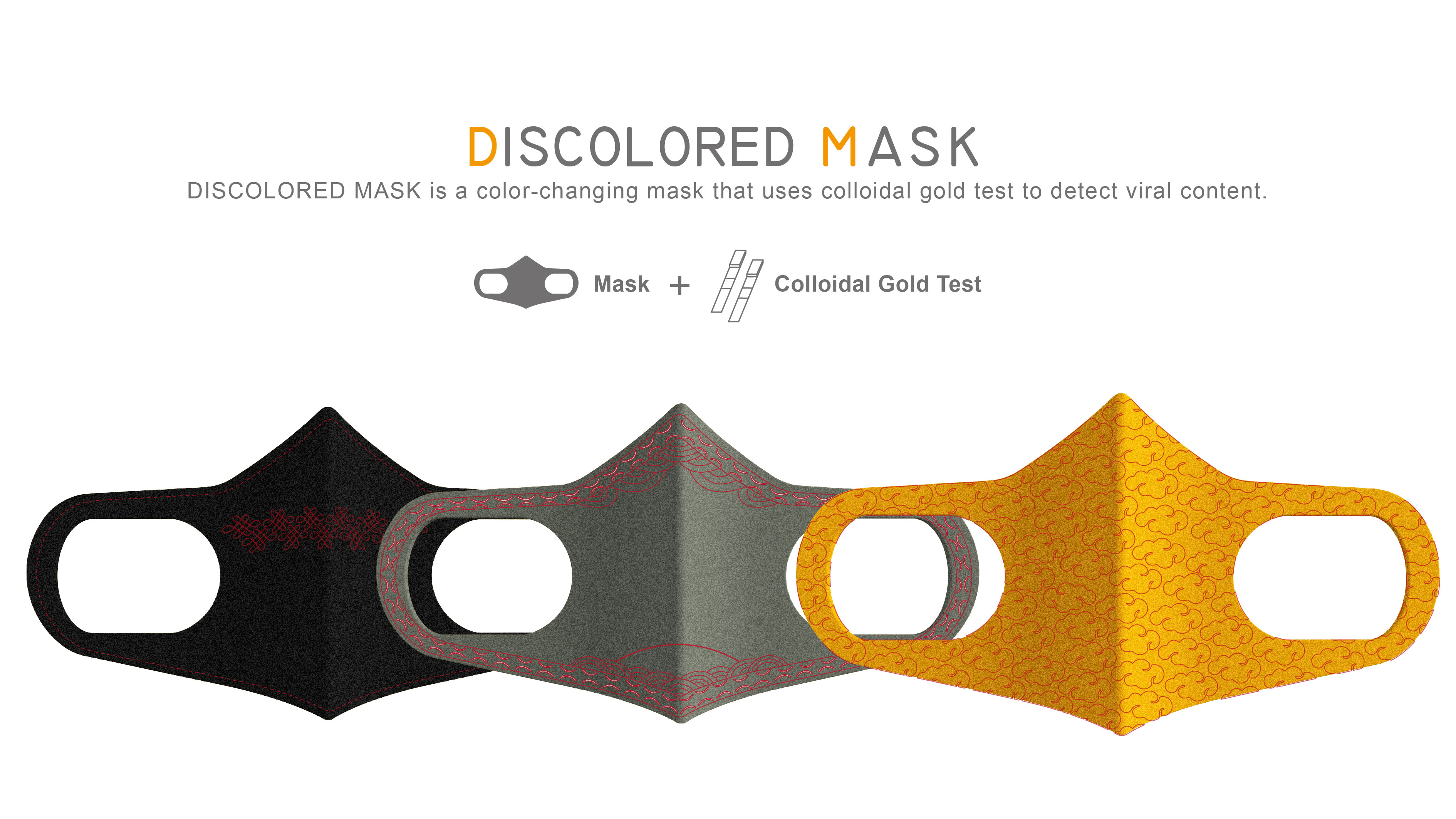 DISCOLORED MASK