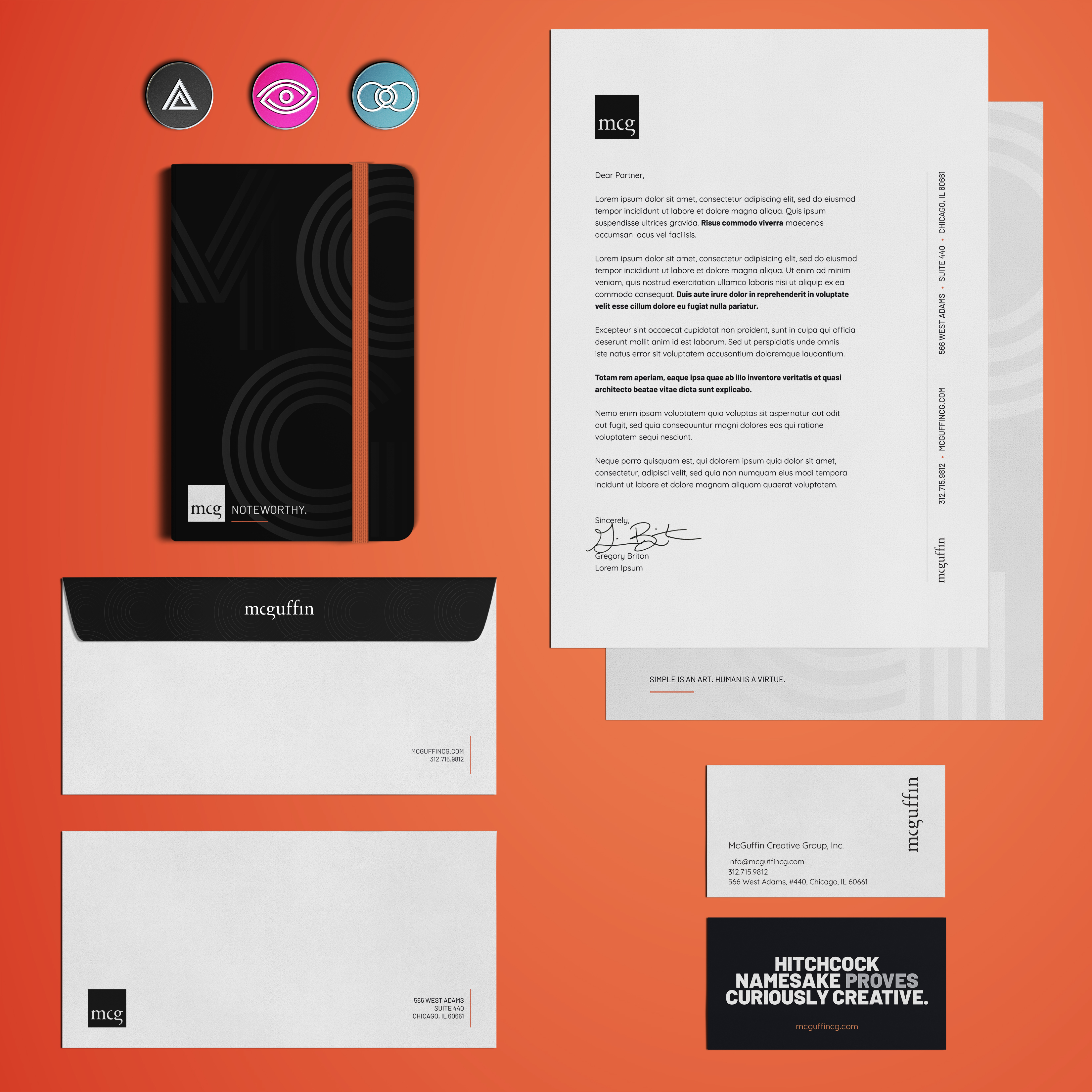 McGuffin Creative Group Rebrand