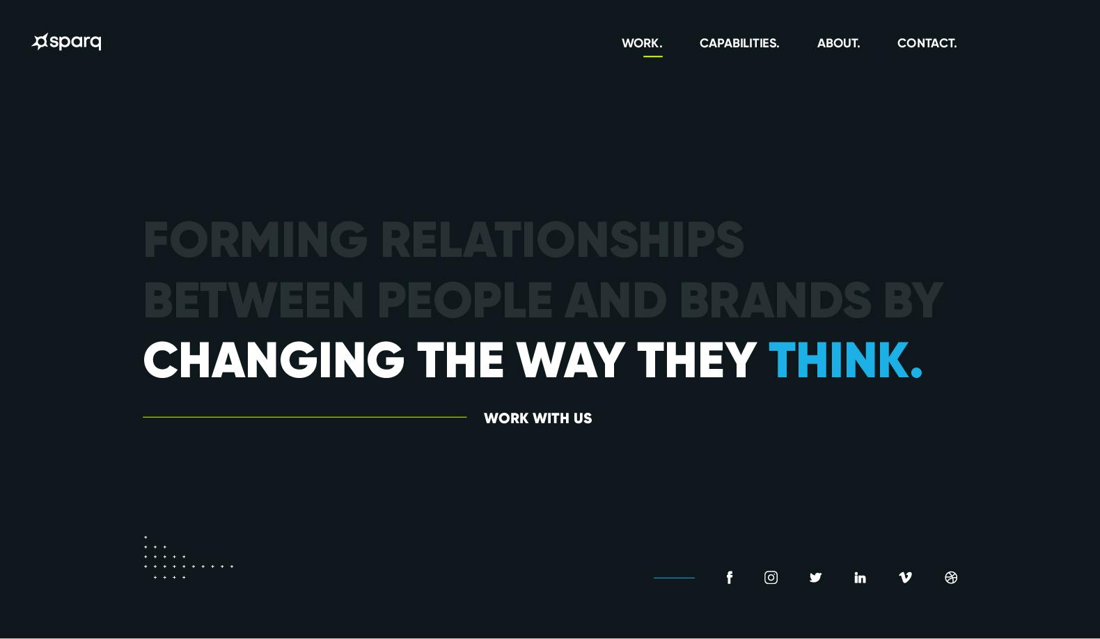 Sparq Designs Website