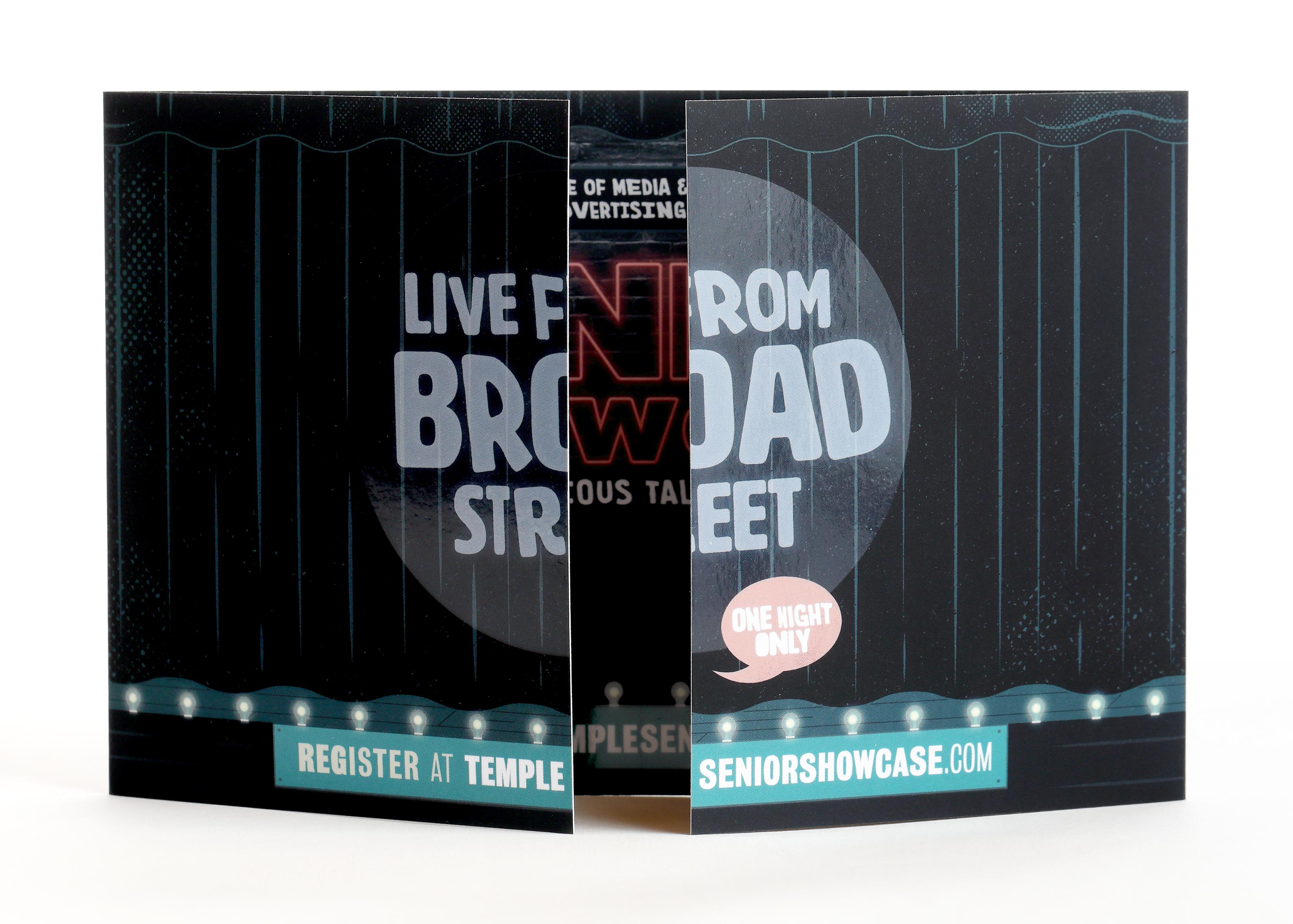 Senior Showcase 2019: Live from Broad Street Invitation