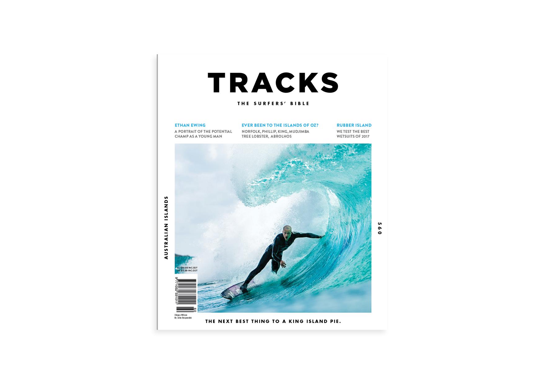 Tracks Magazine Re-Brand