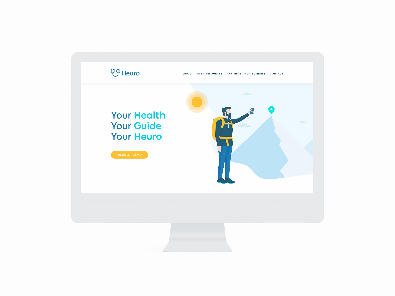 Heuro Health Website